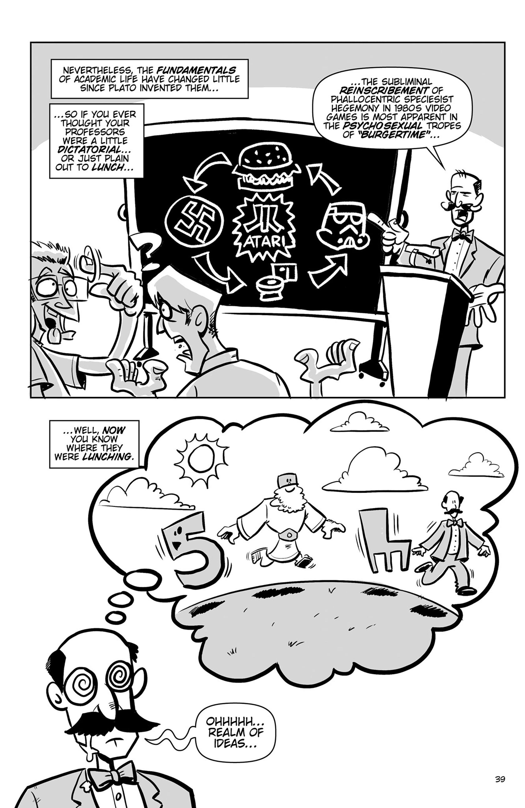Read online Action Philosophers! comic -  Issue #Action Philosophers! TPB (Part 1) - 39