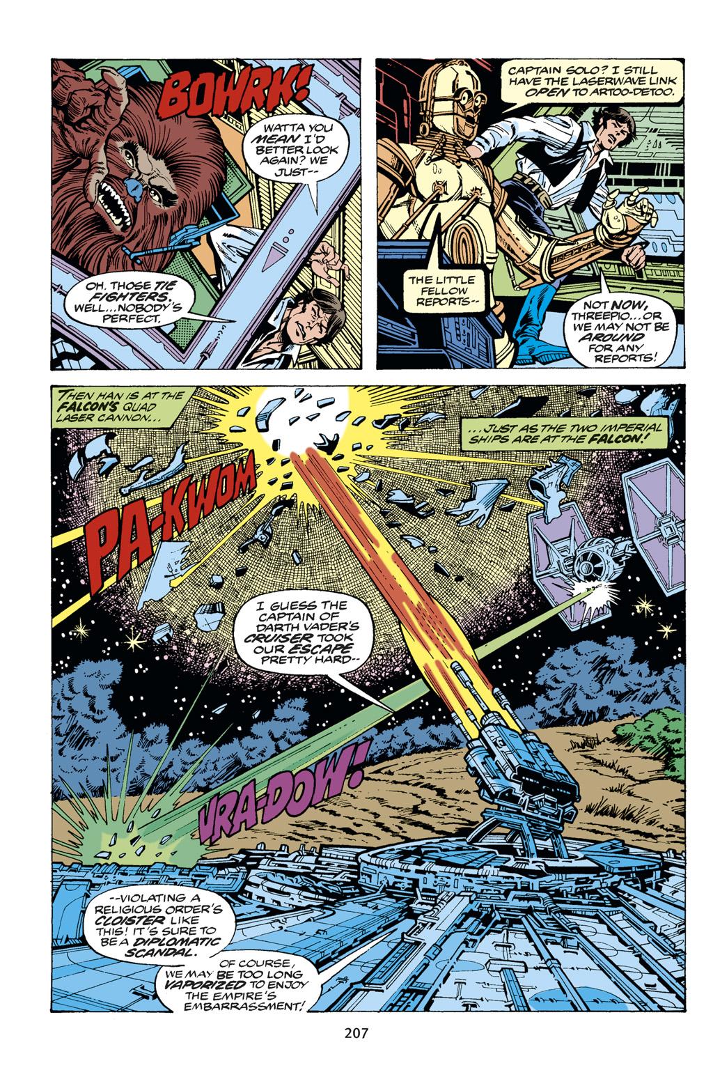 Read online Star Wars Omnibus comic -  Issue # Vol. 14 - 206