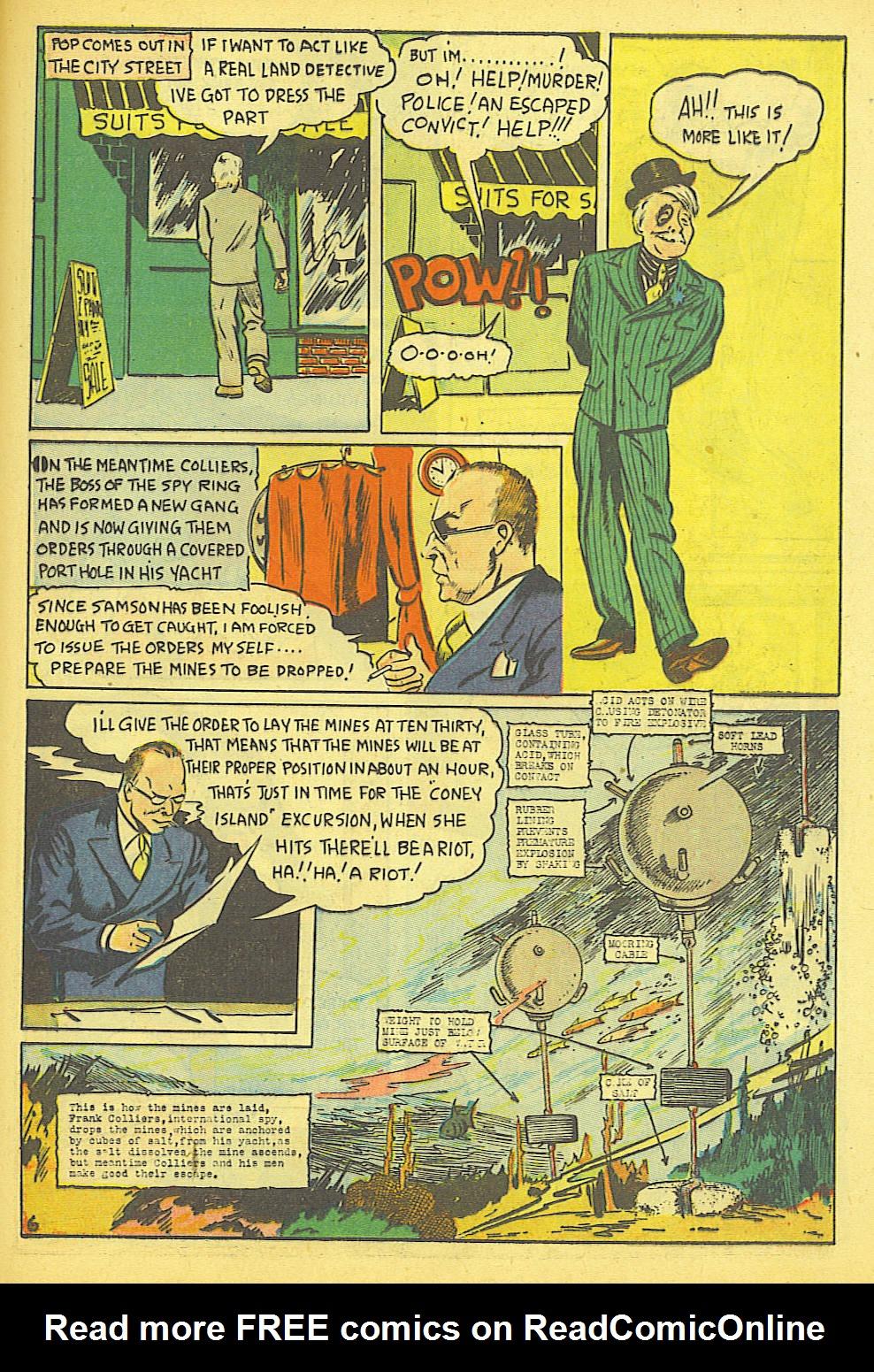 Read online Amazing Man Comics comic -  Issue #19 - 49