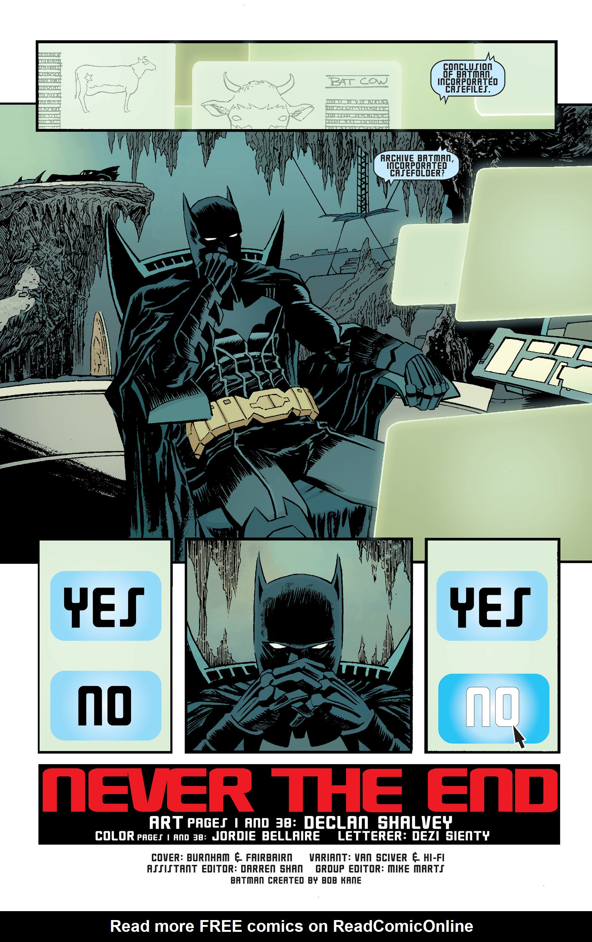 Read online Batman Incorporated (2012) comic -  Issue # _Special 1 - 39