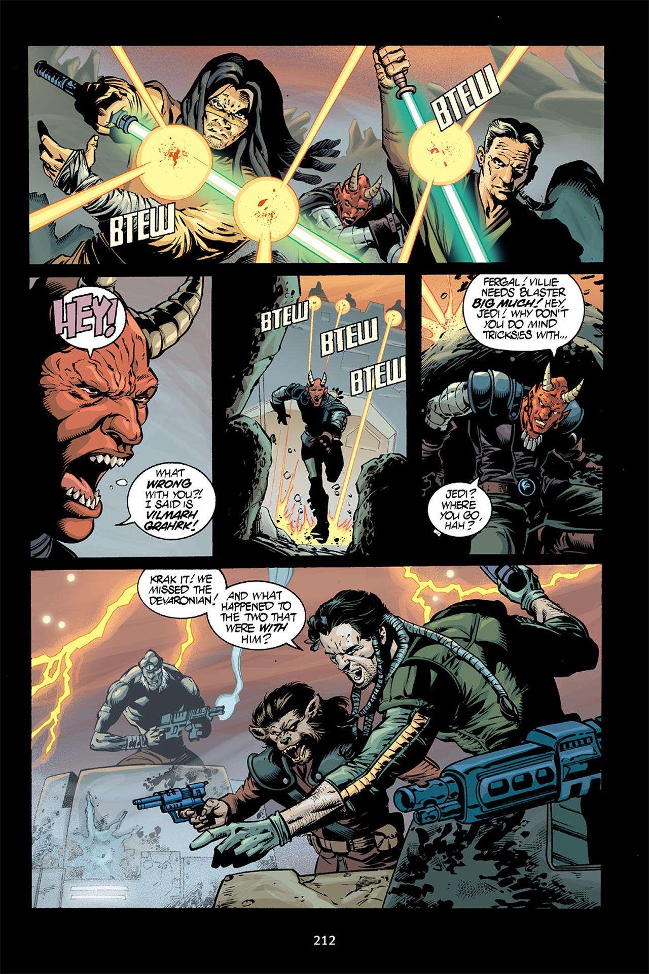 Read online Star Wars Omnibus comic -  Issue # Vol. 15 - 209