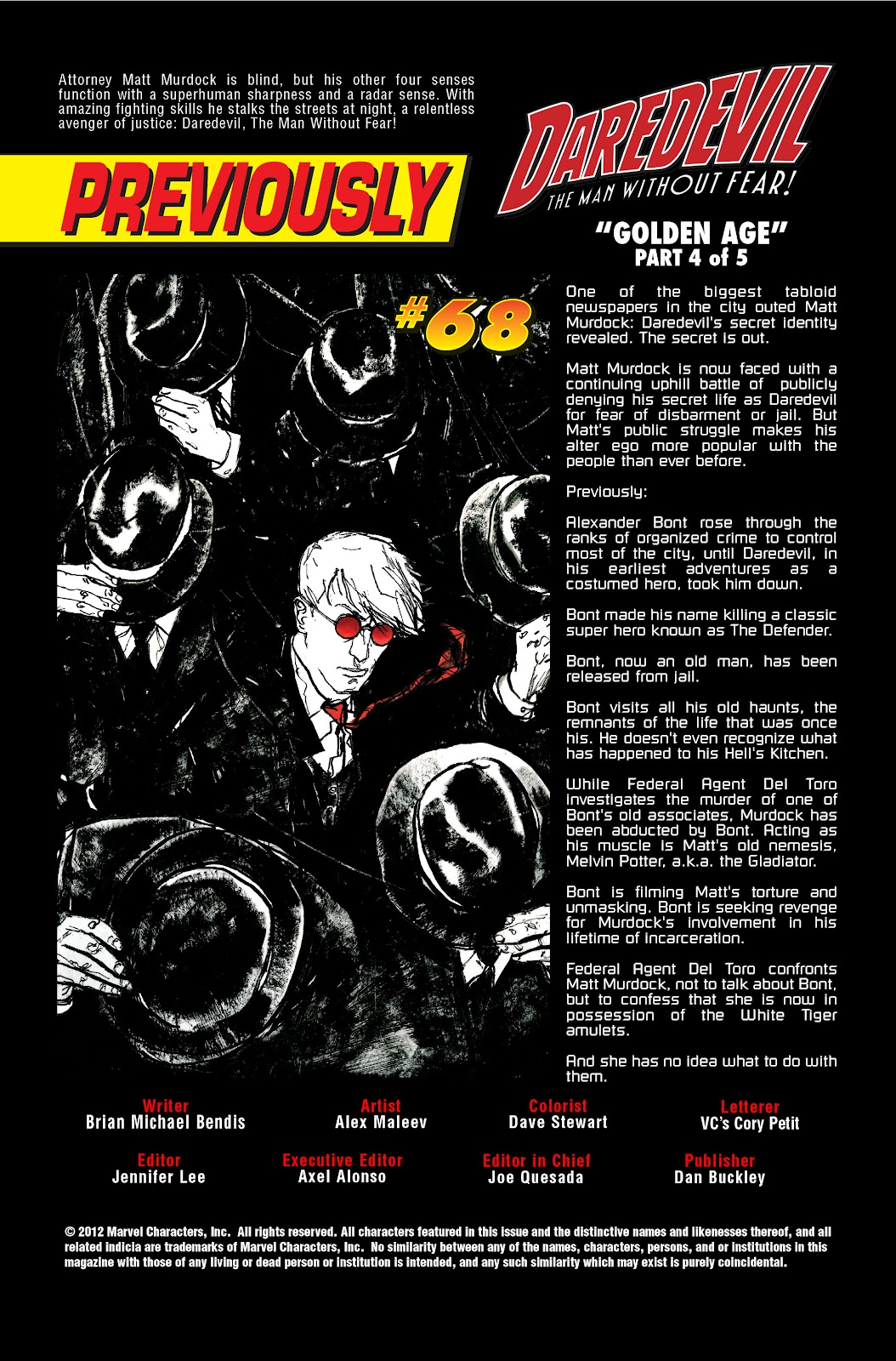 Read online Daredevil (1998) comic -  Issue # _Ultimate_Collection TPB 3 (Part 1) - 67
