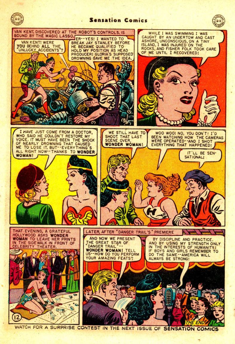 Read online Sensation (Mystery) Comics comic -  Issue #88 - 13