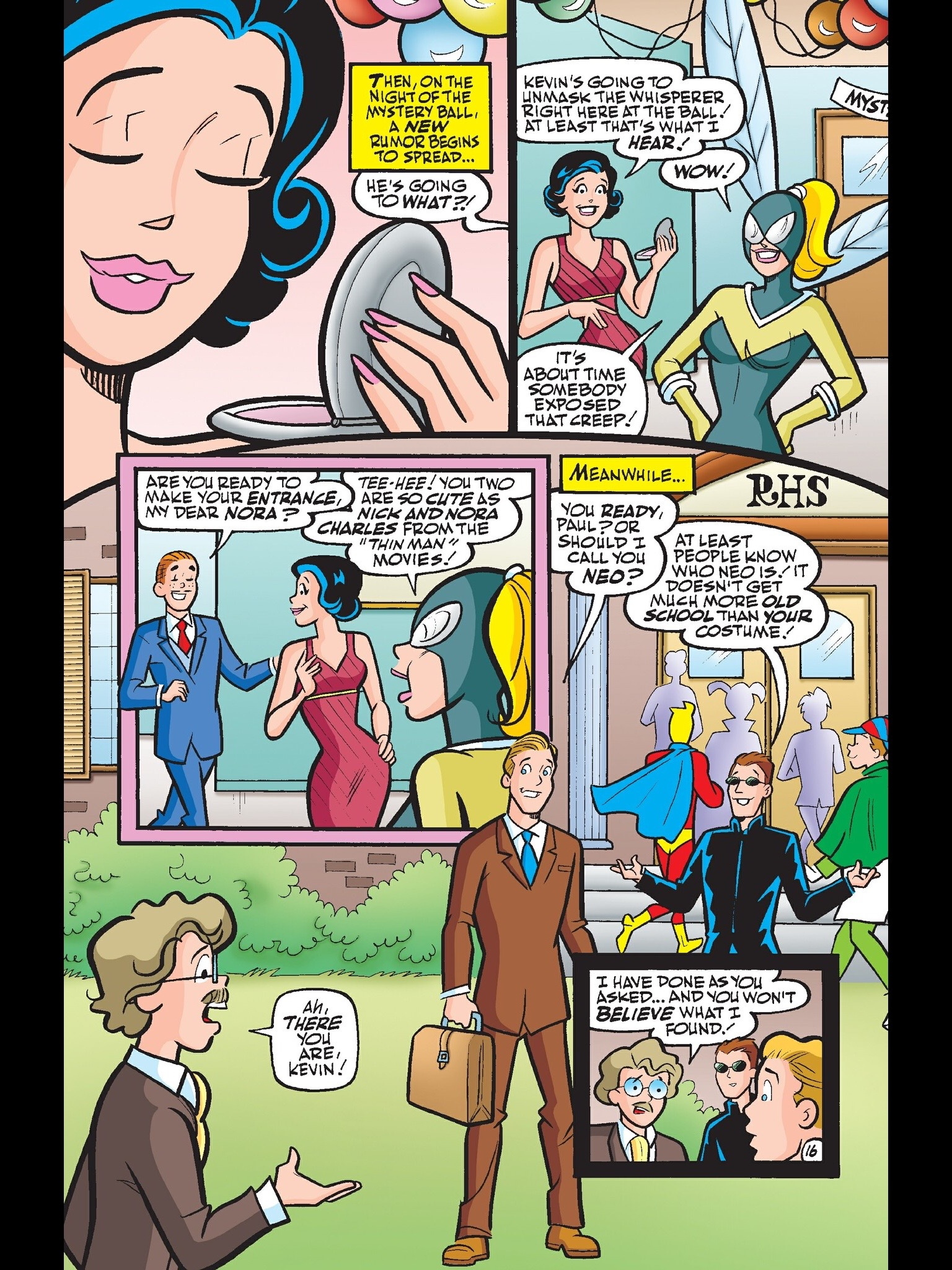 Read online Kevin Keller comic -  Issue #13 - 19