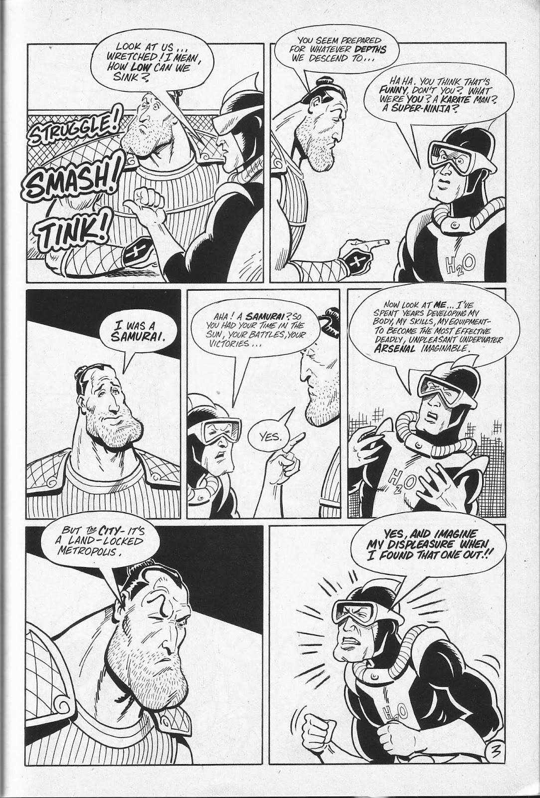 Read online Paul the Samurai (1991) comic -  Issue # TPB - 69
