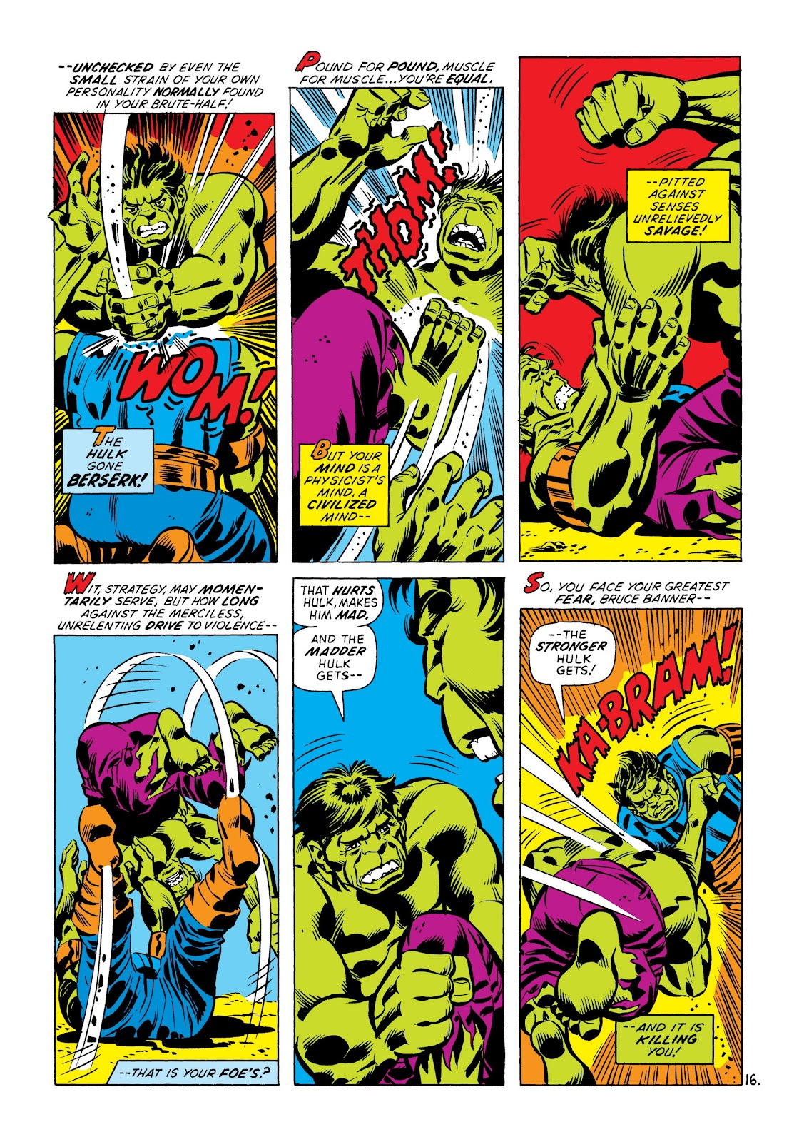 Read online Marvel Masterworks: The Incredible Hulk comic -  Issue # TPB 8 (Part 3) - 77