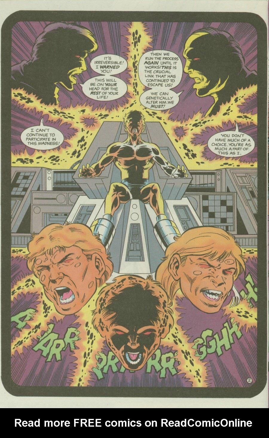 Read online Ex-Mutants comic -  Issue #6 - 4