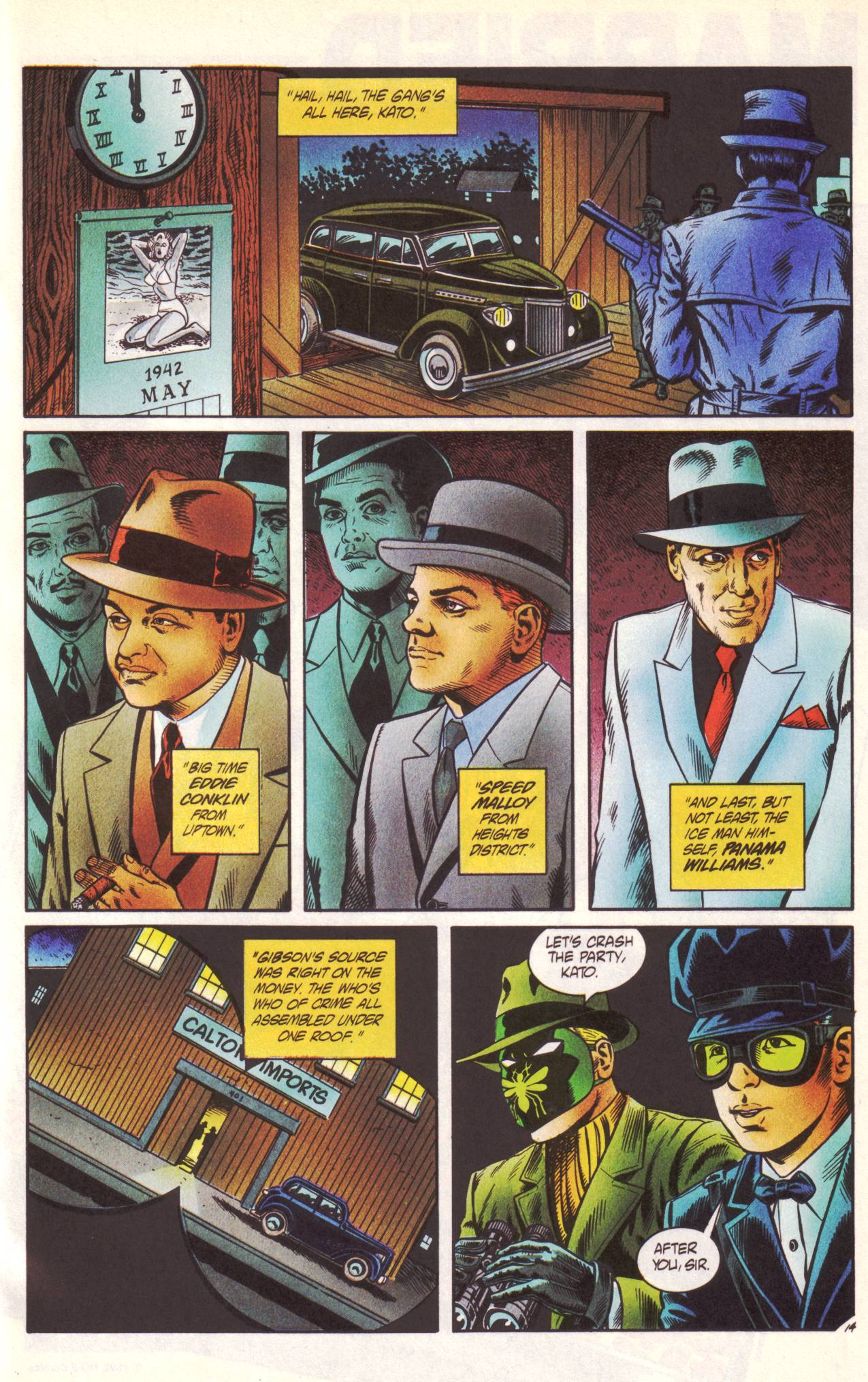 Read online Sting of The Green Hornet comic -  Issue #1 - 15