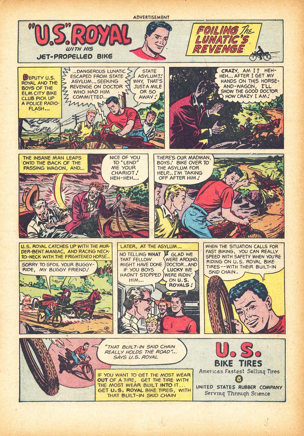 Read online Sensation (Mystery) Comics comic -  Issue #78 - 15