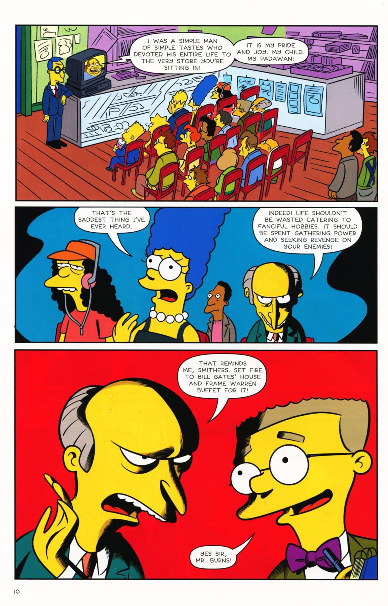 Read online Bongo Comics presents Comic Book Guy: The Comic Book comic -  Issue #2 - 12