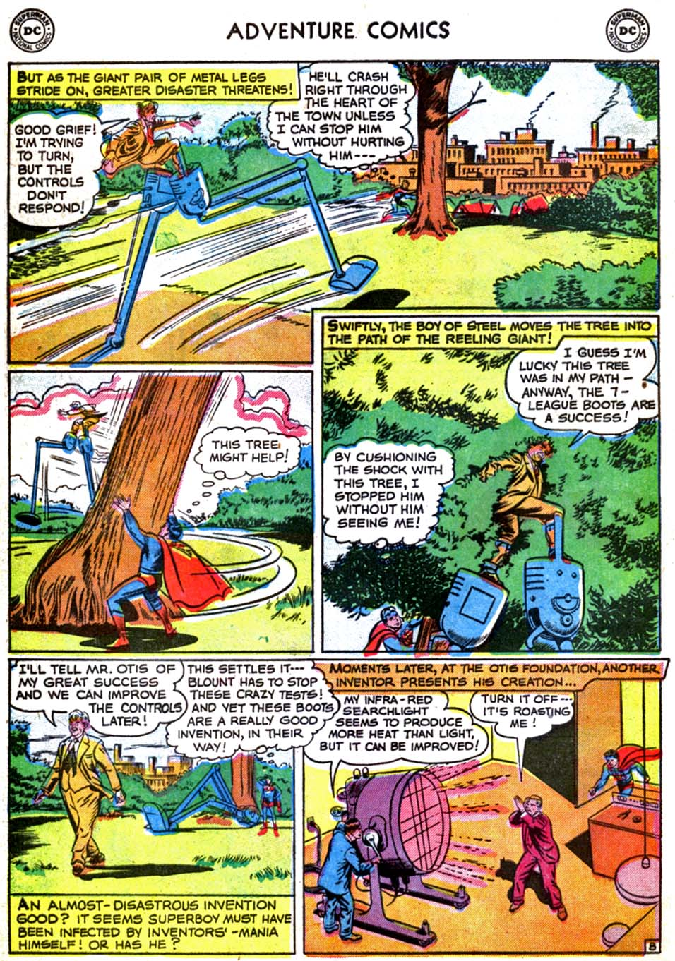 Read online Adventure Comics (1938) comic -  Issue #179 - 10