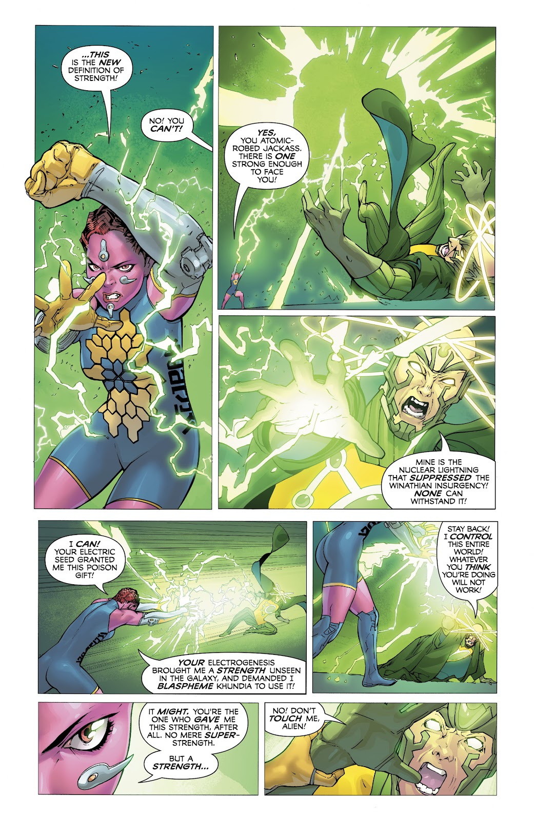Read online Electric Warriors comic -  Issue #5 - 19