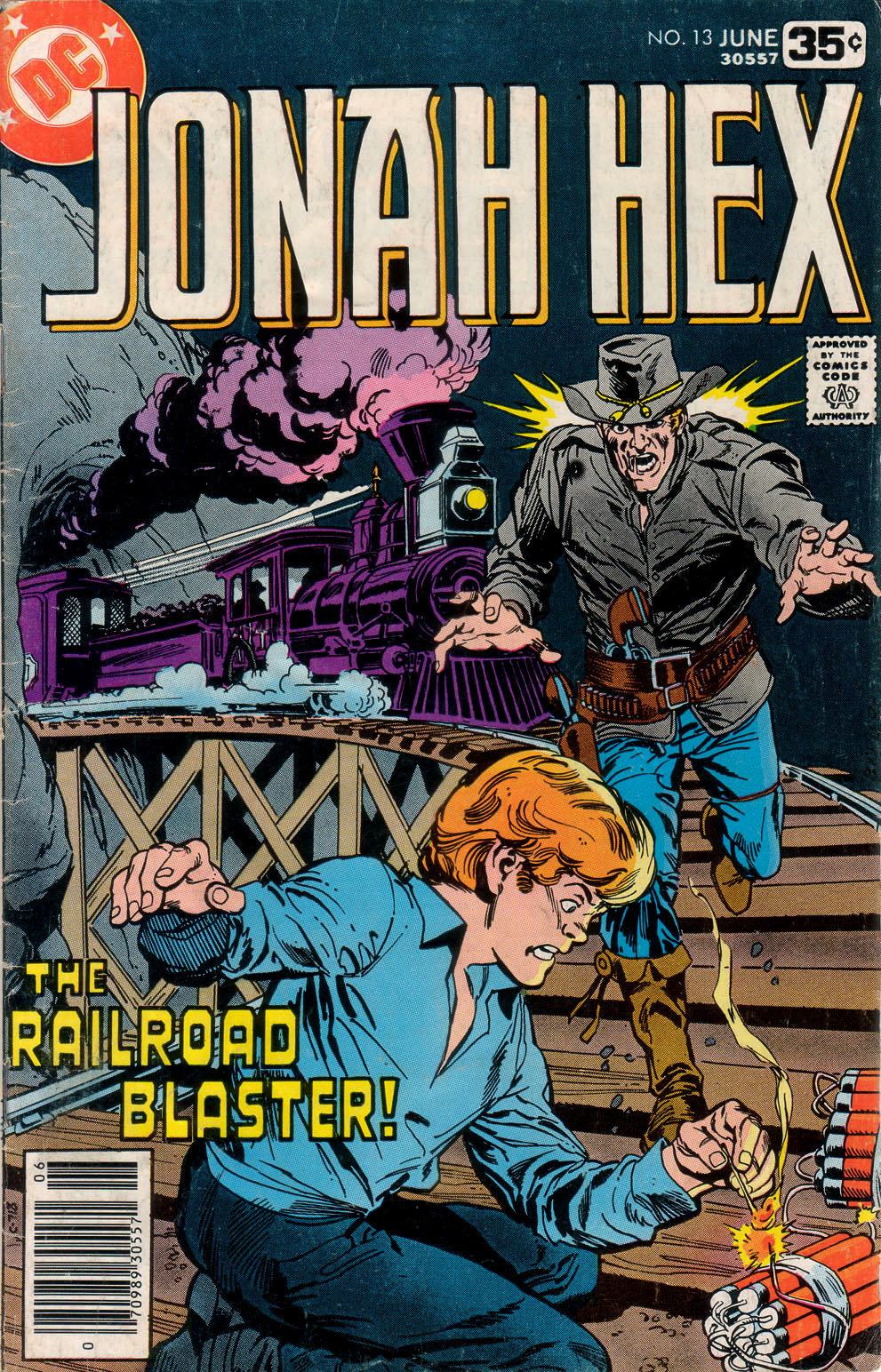 Jonah Hex (1977) 13 Page 1