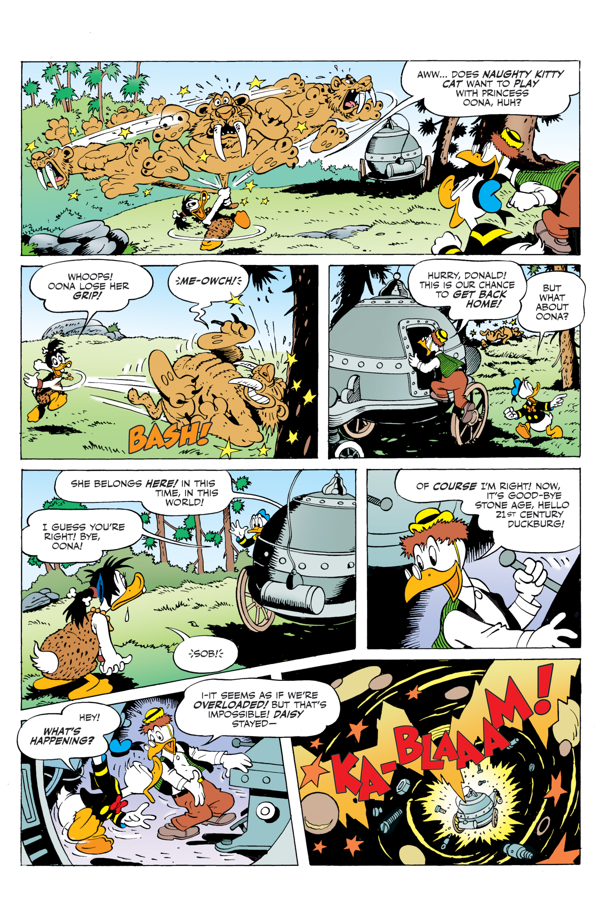 Read online Donald Duck (2015) comic -  Issue #20 - 33