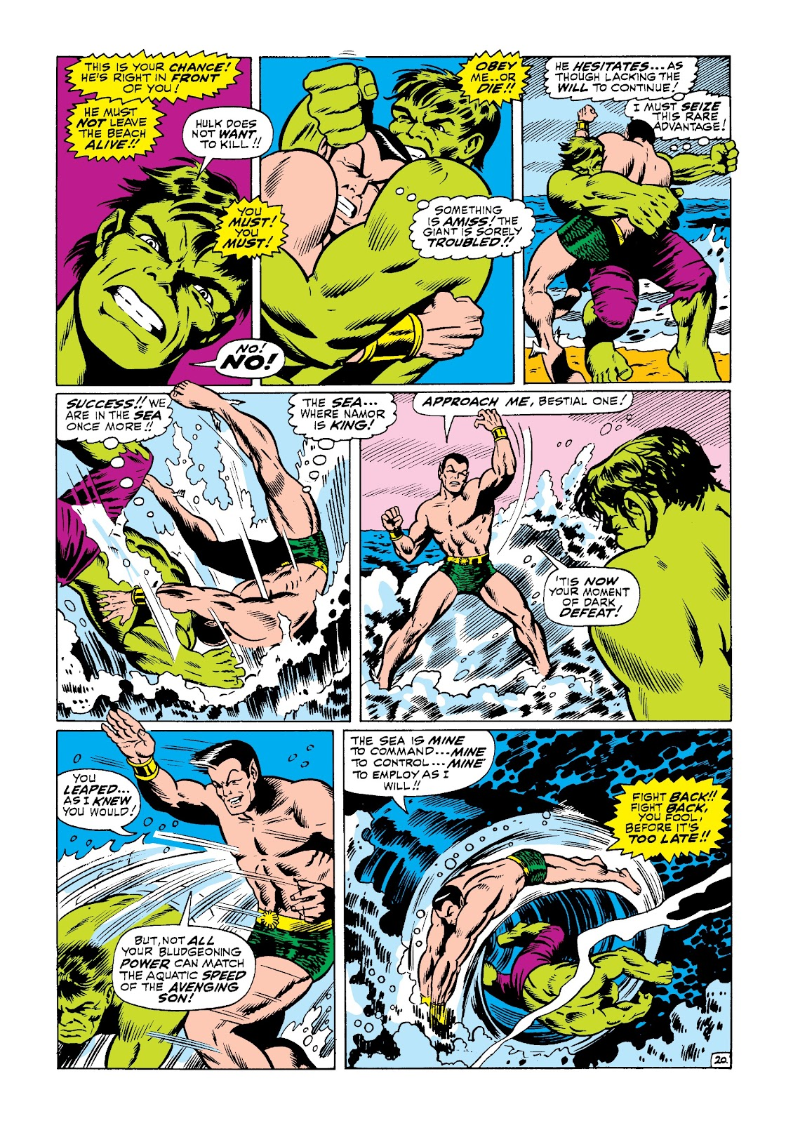 Read online Marvel Masterworks: The Incredible Hulk comic -  Issue # TPB 3 (Part 3) - 48