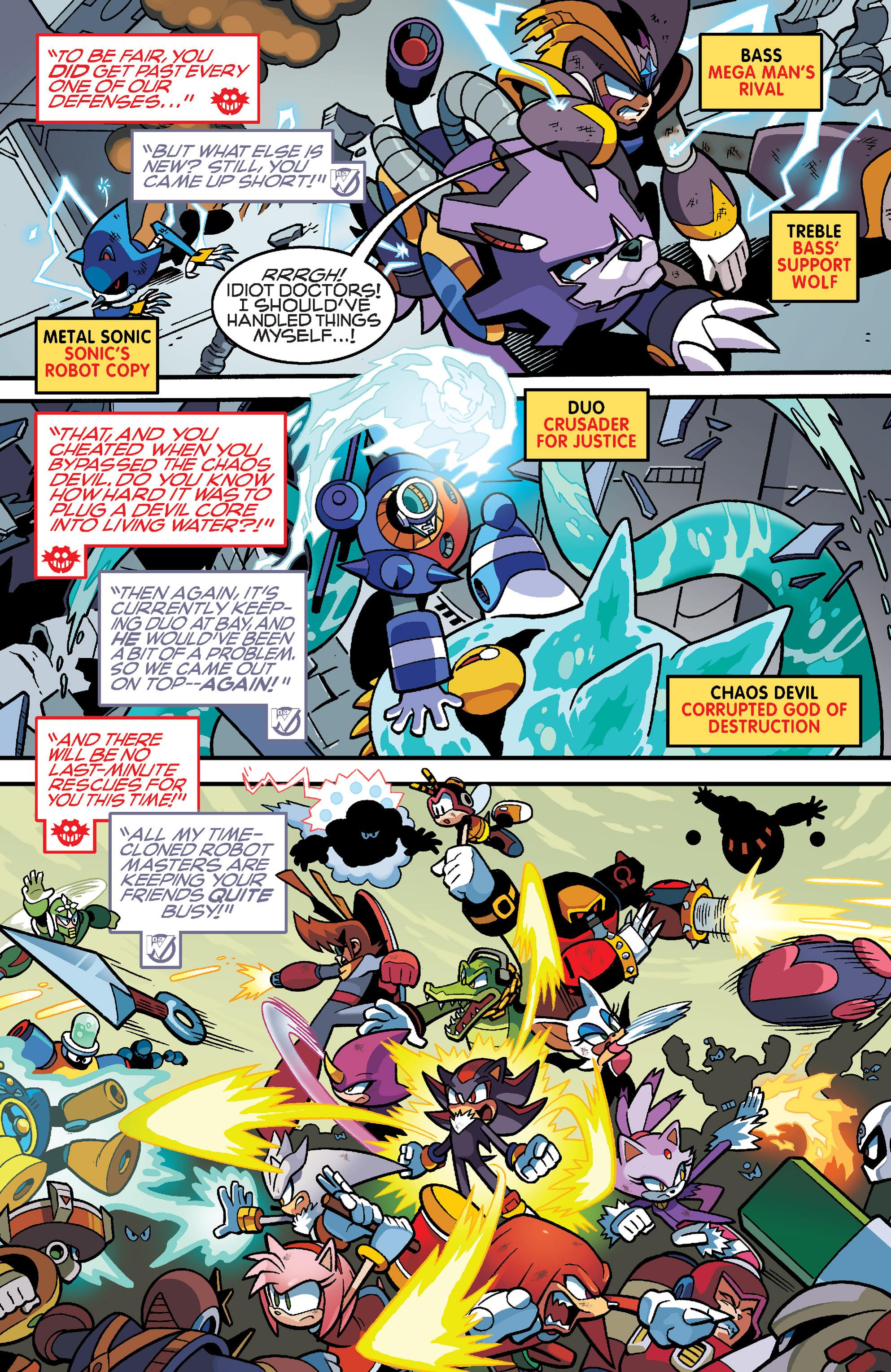 Read online Sonic Mega Man Worlds Collide comic -  Issue # Vol 3 - 97