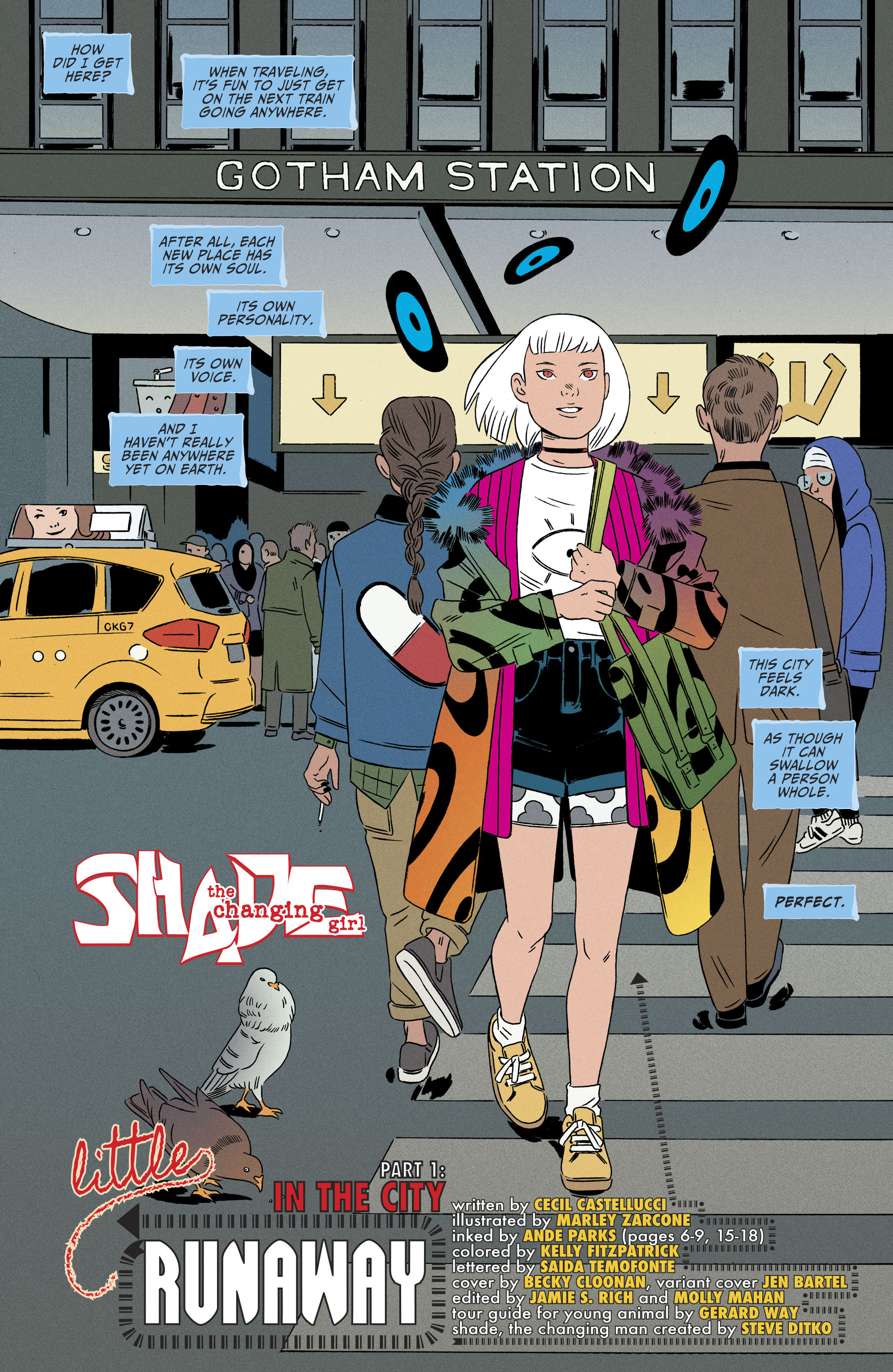 Read online Shade, the Changing Girl comic -  Issue #8 - 4