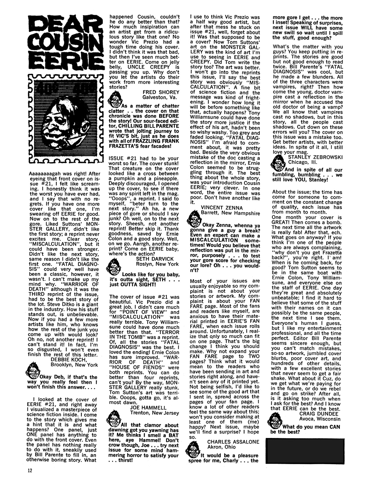 Read online Eerie Archives comic -  Issue # TPB 5 - 13