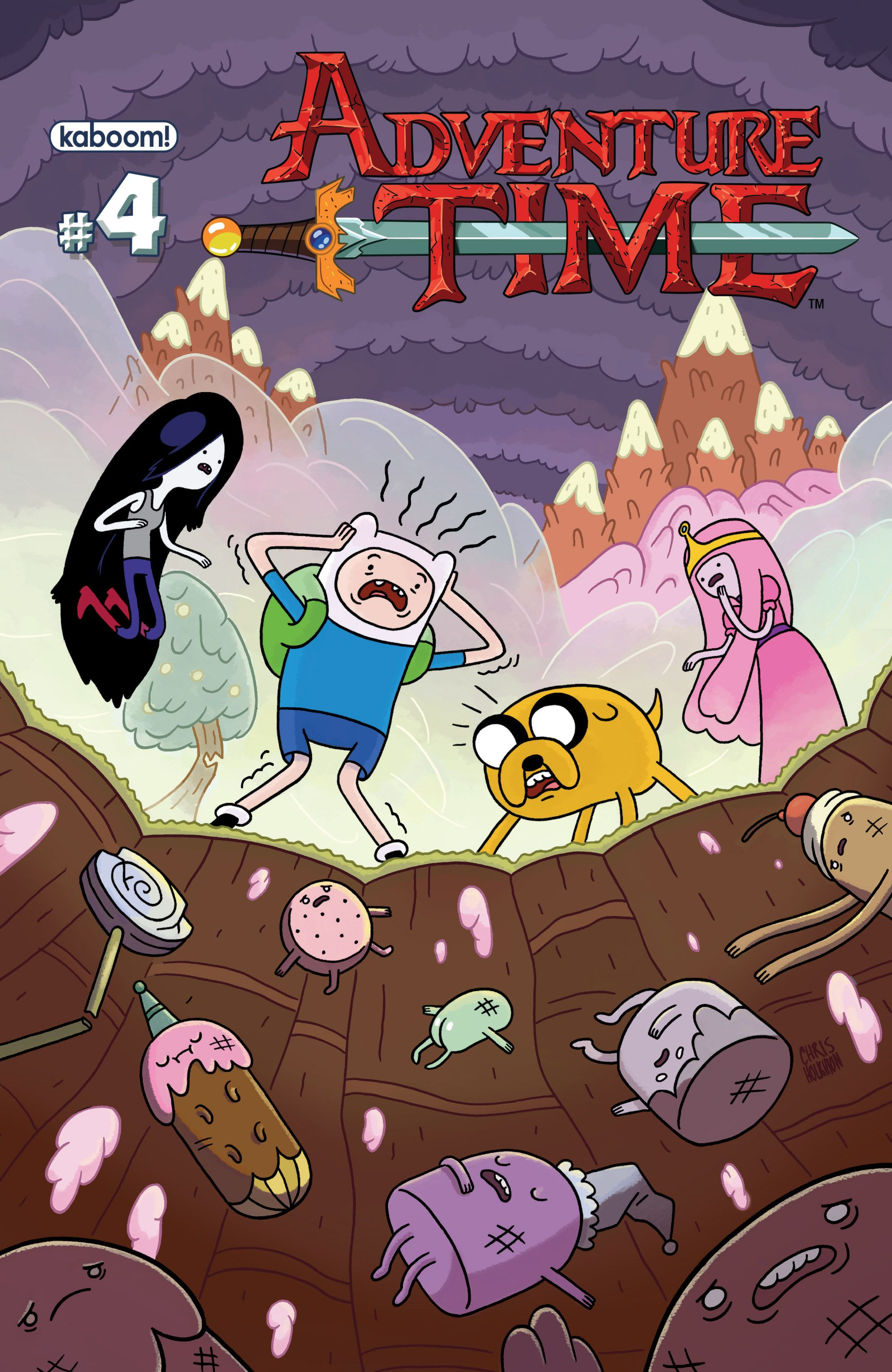 Read online Adventure Time comic -  Issue #4 - 1