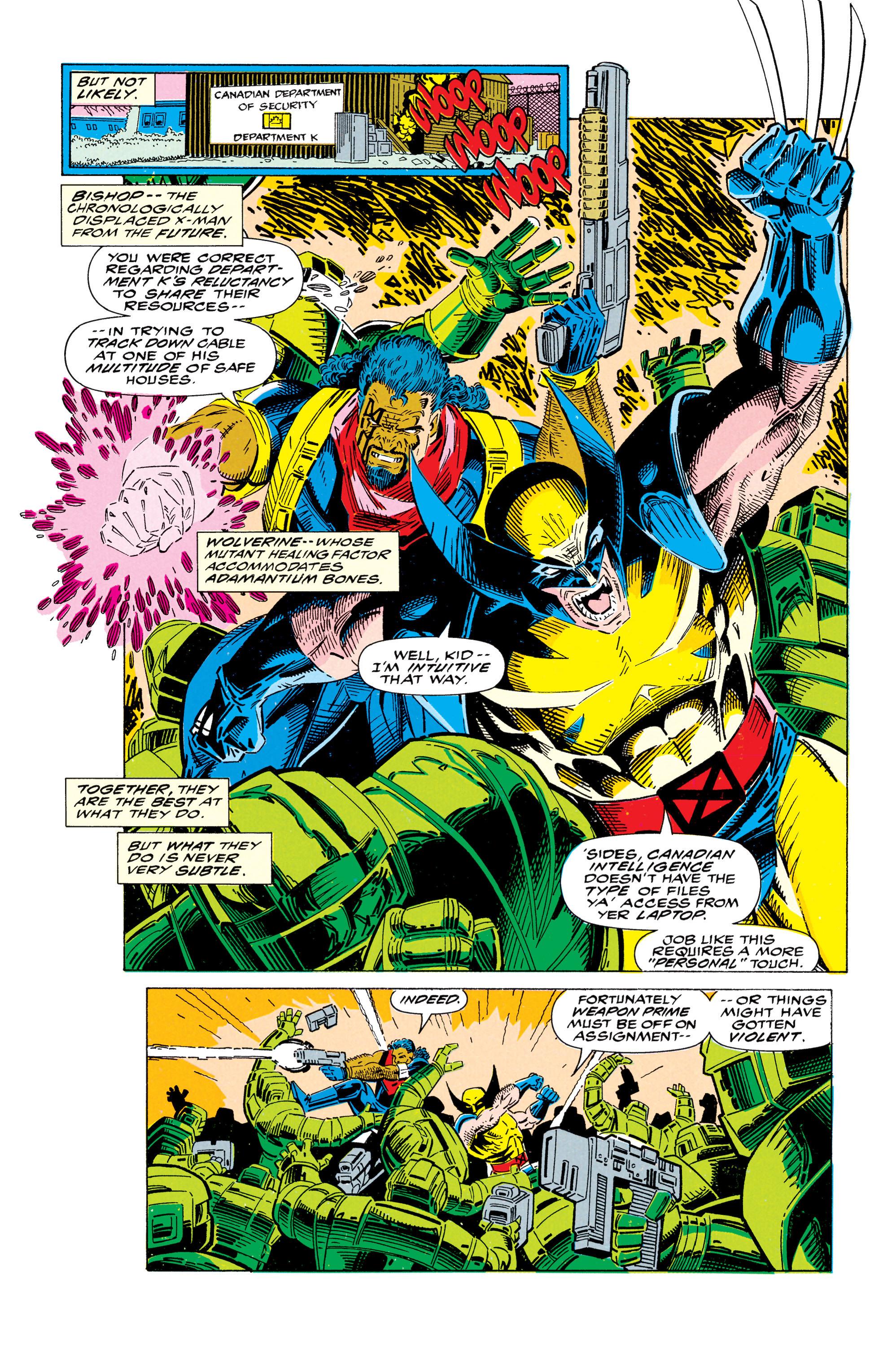 Read online Uncanny X-Men (1963) comic -  Issue #295 - 15