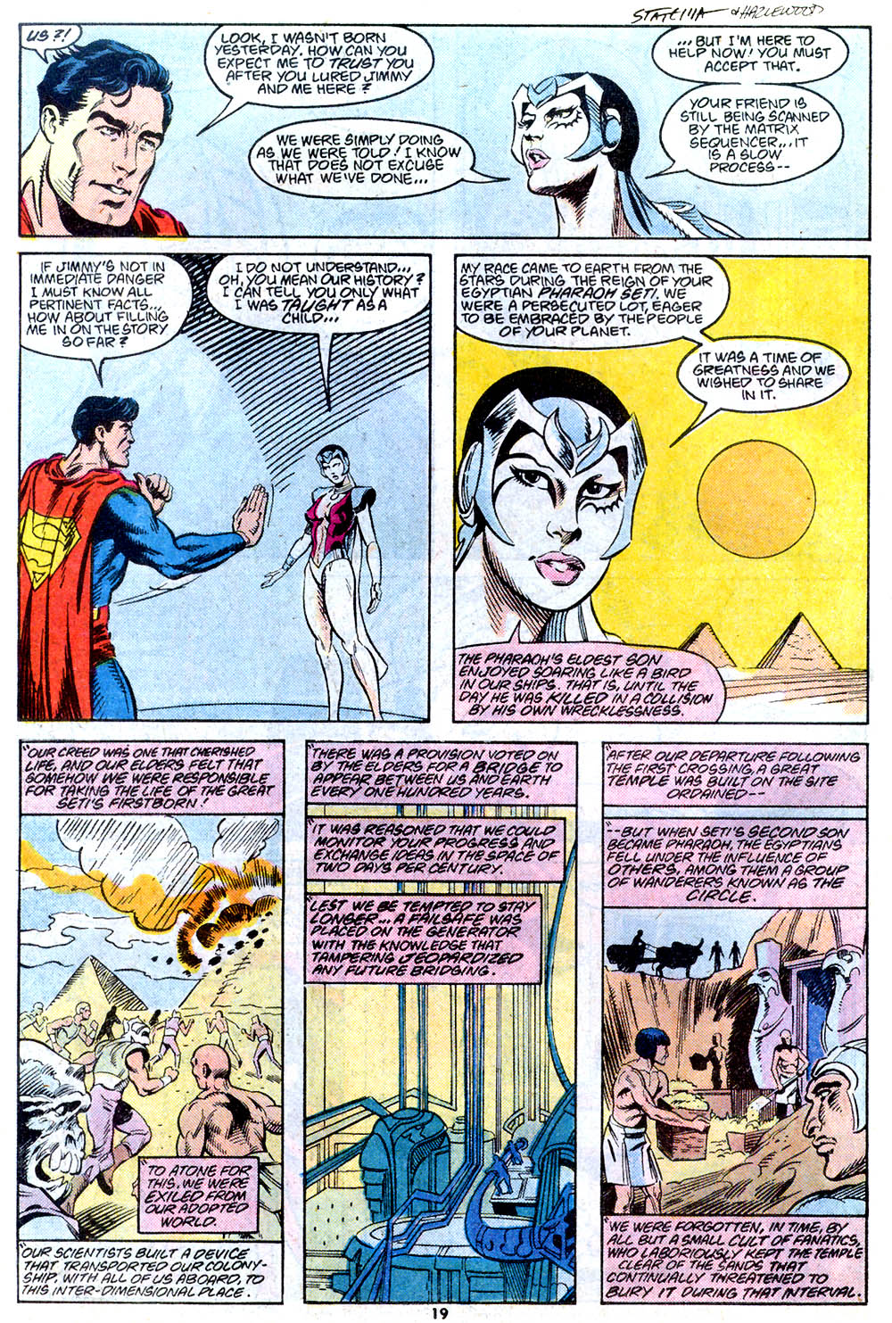 Read online Adventures of Superman (1987) comic -  Issue #443 - 21