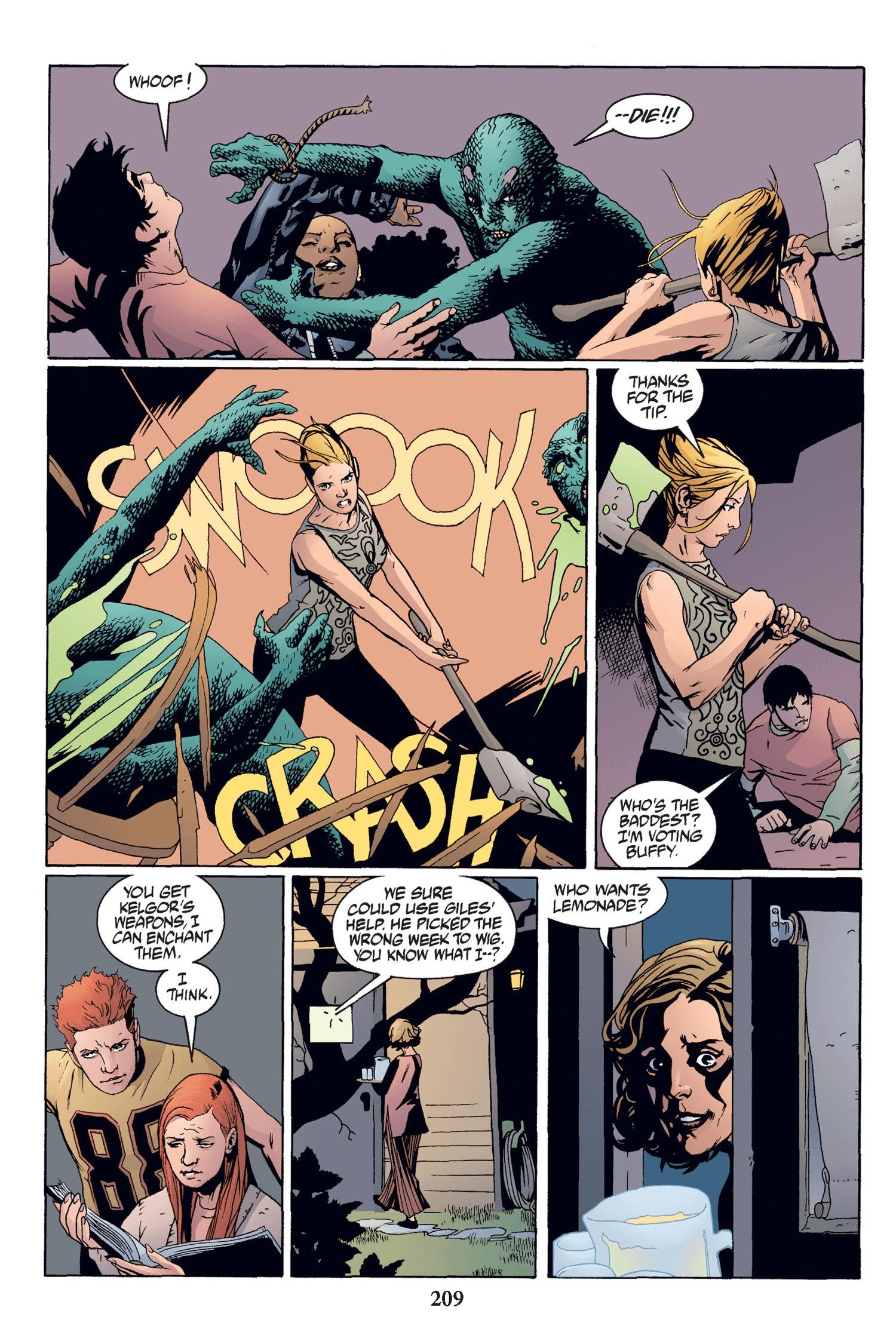 Read online Buffy the Vampire Slayer: Omnibus comic -  Issue # TPB 2 - 203