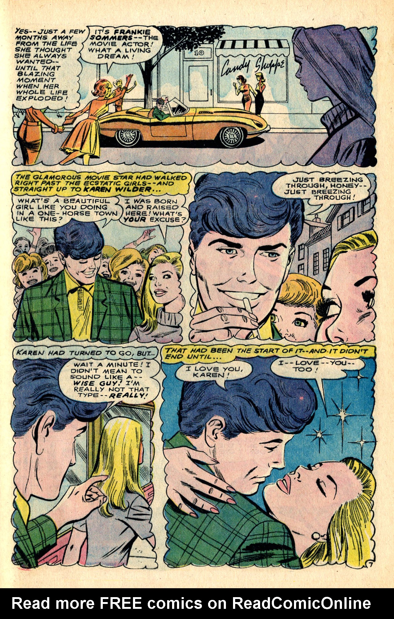 Read online Secret Hearts comic -  Issue #123 - 61