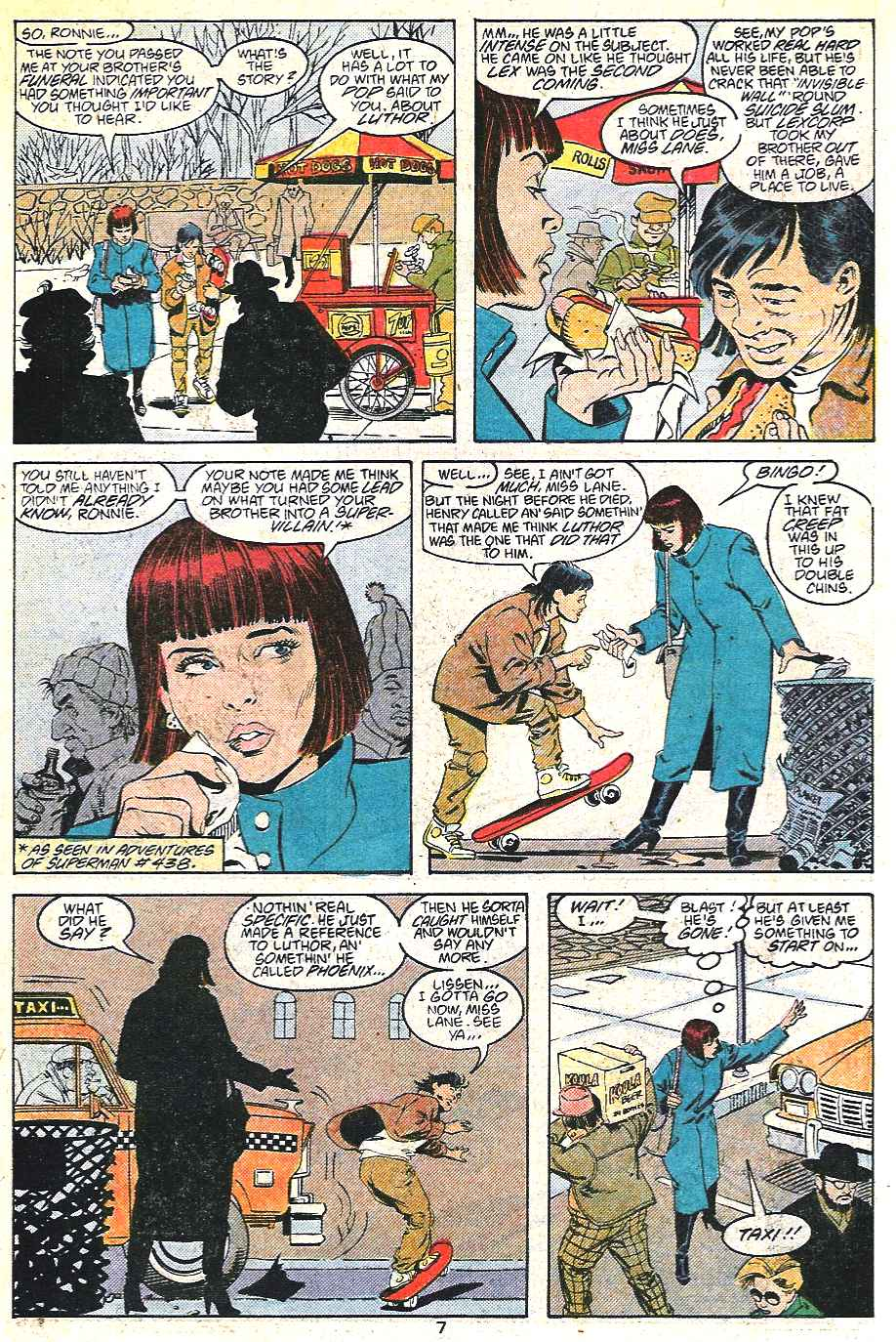 Read online Adventures of Superman (1987) comic -  Issue #441 - 8
