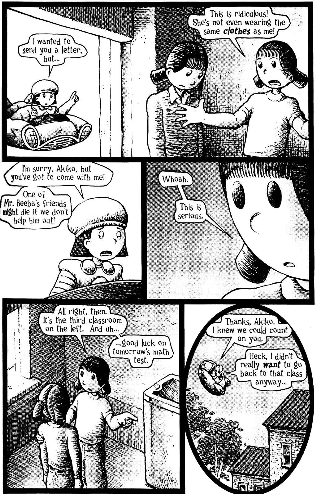 Read online Akiko comic -  Issue #Akiko _TPB 5 - 7