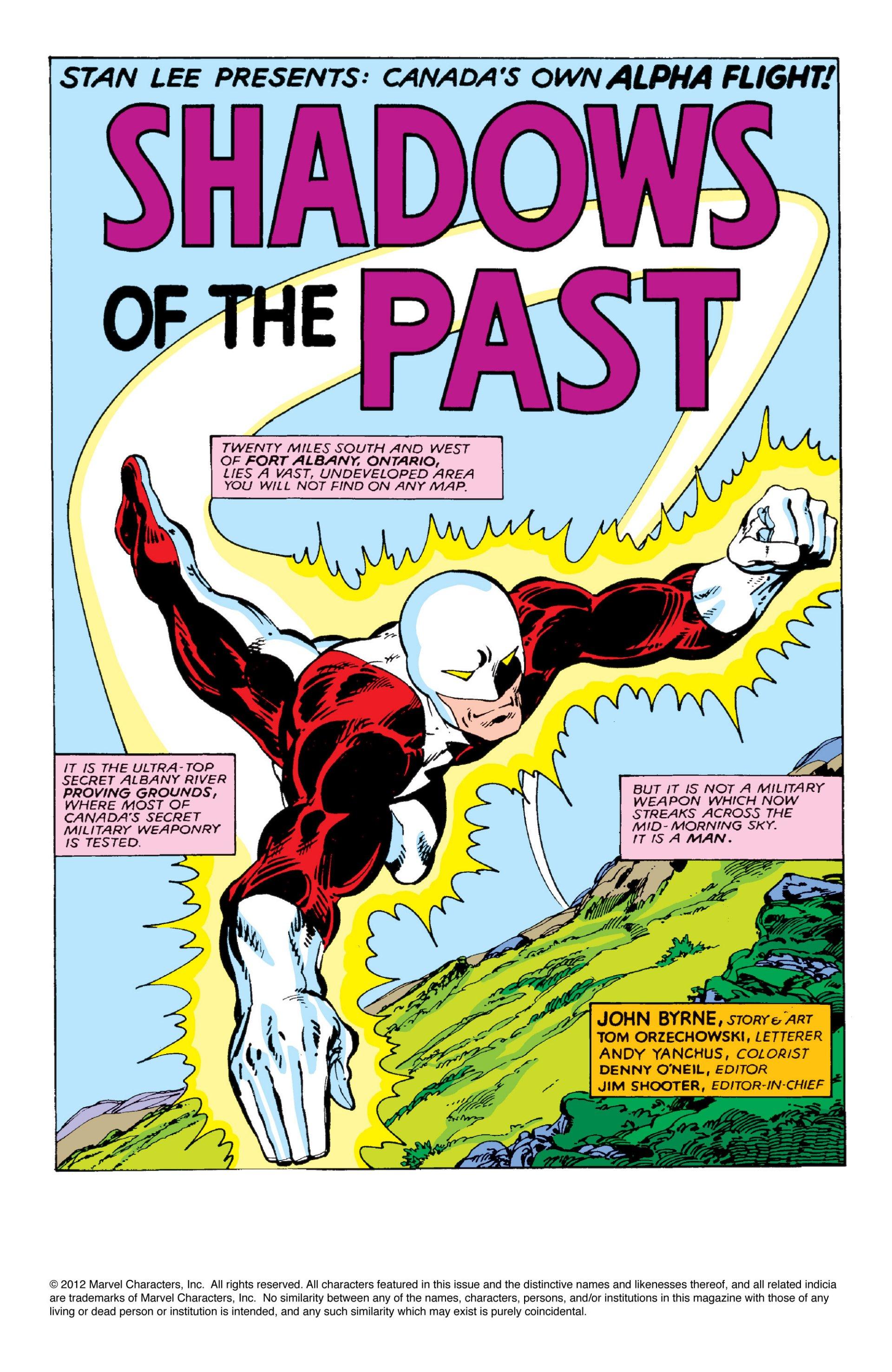 Read online Alpha Flight (1983) comic -  Issue #2 - 2