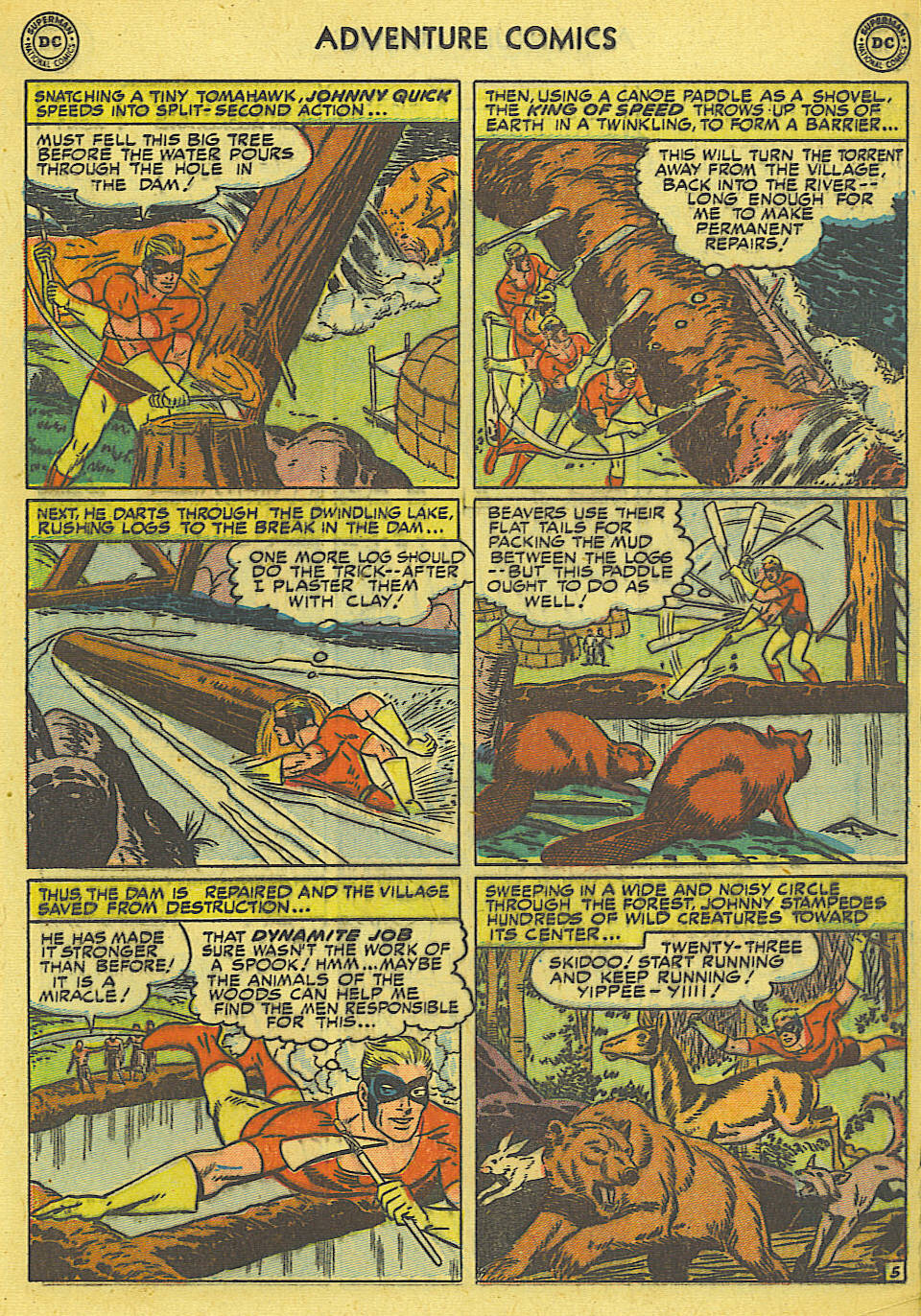Read online Adventure Comics (1938) comic -  Issue #165 - 24