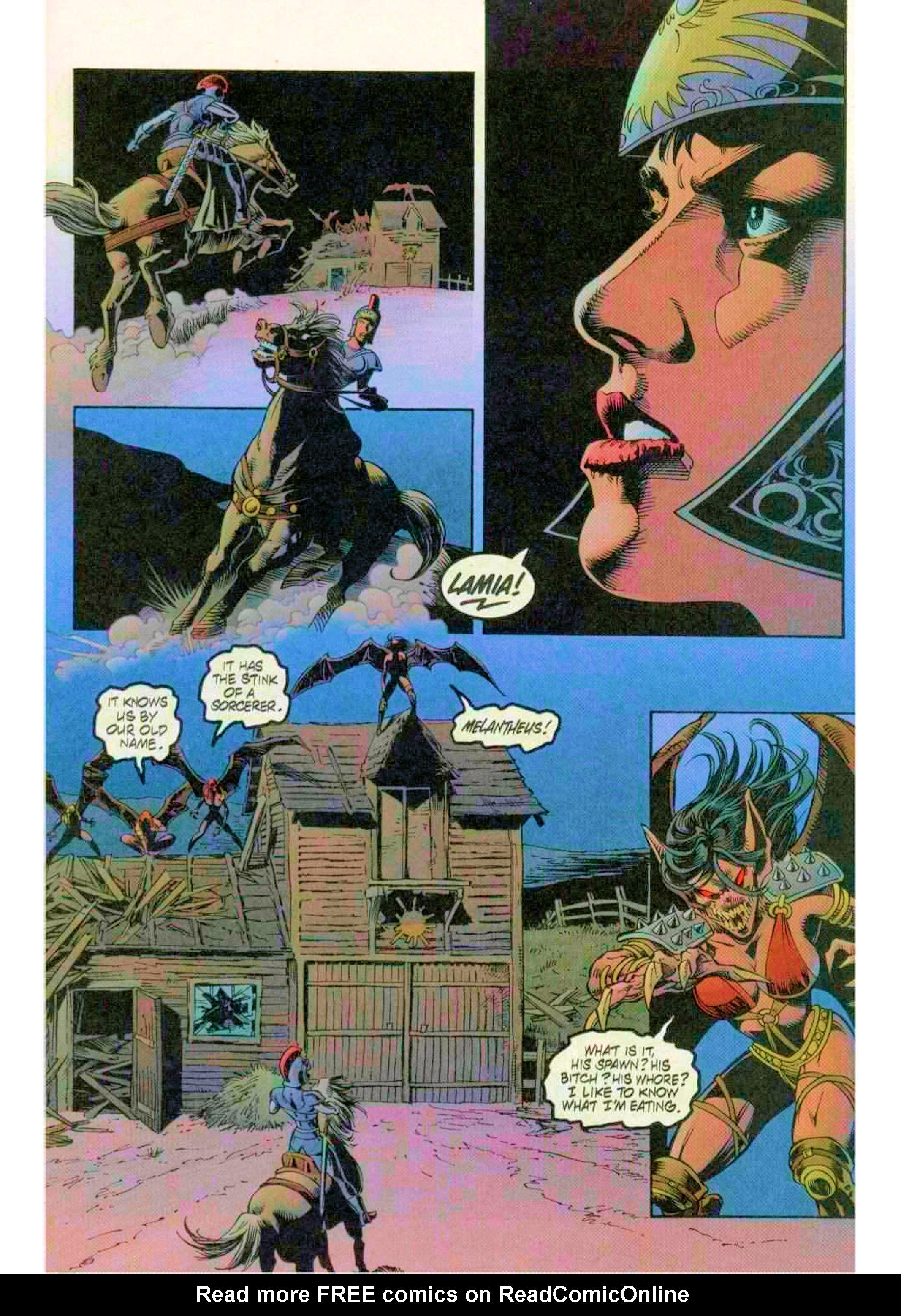 Read online Xena: Warrior Princess (1999) comic -  Issue #12 - 17