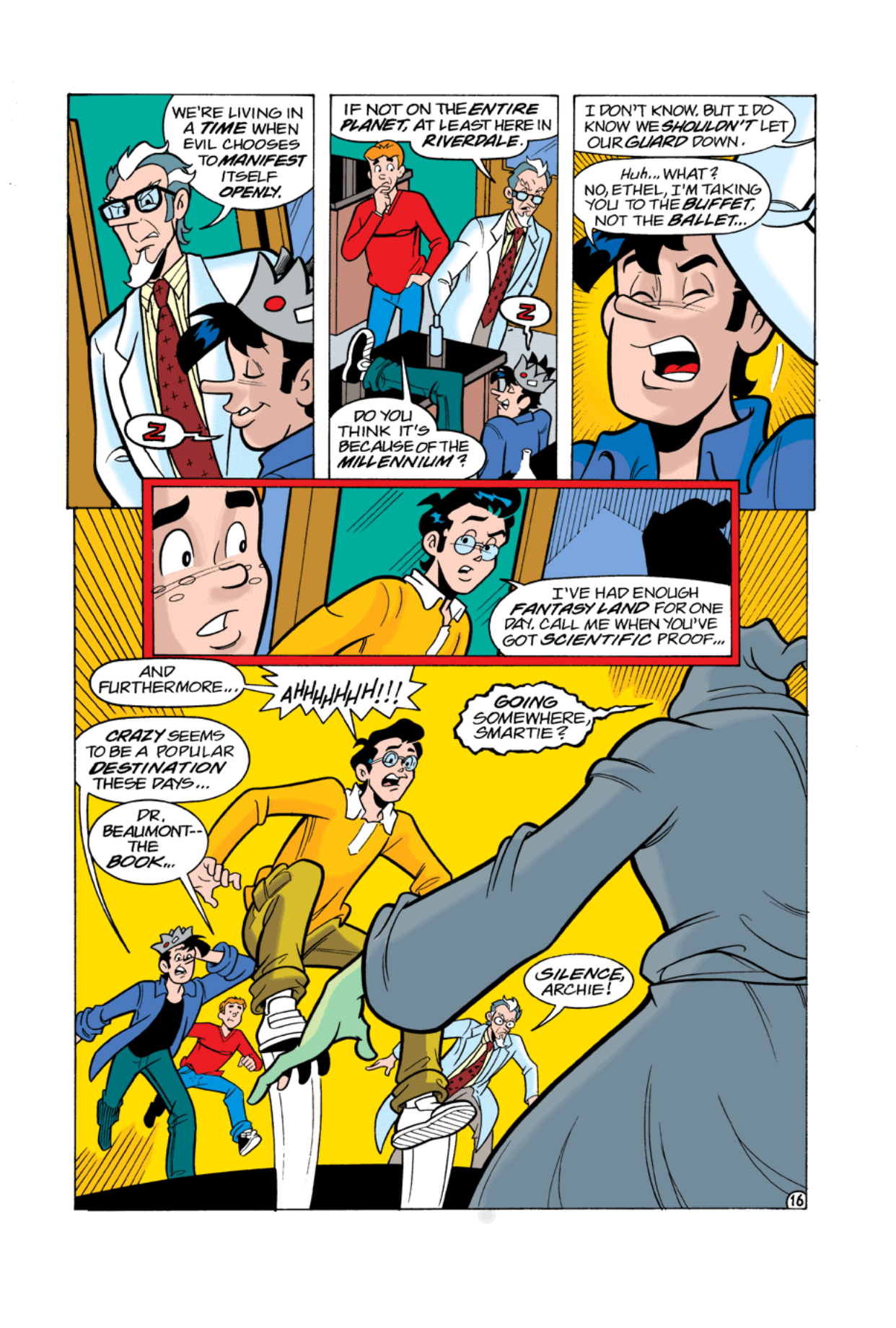 Read online Archie's Weird Mysteries comic -  Issue #2 - 16
