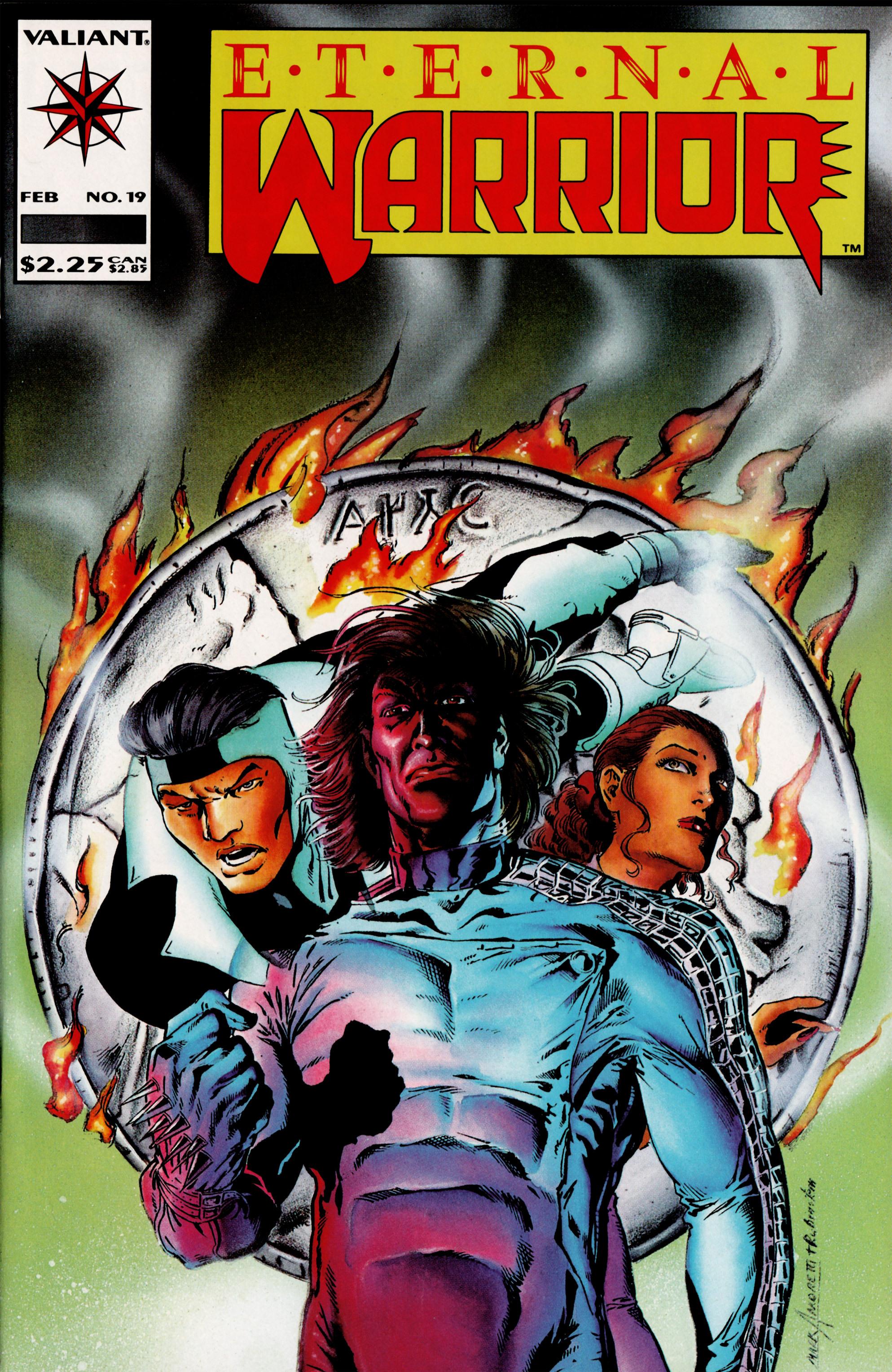 Read online Eternal Warrior (1992) comic -  Issue #19 - 1