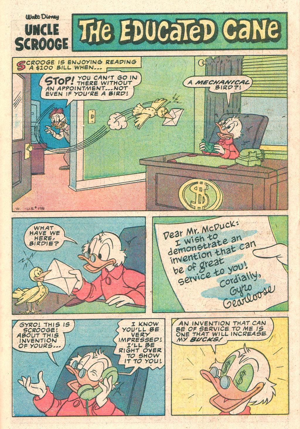 Read online Uncle Scrooge (1953) comic -  Issue #198 - 31