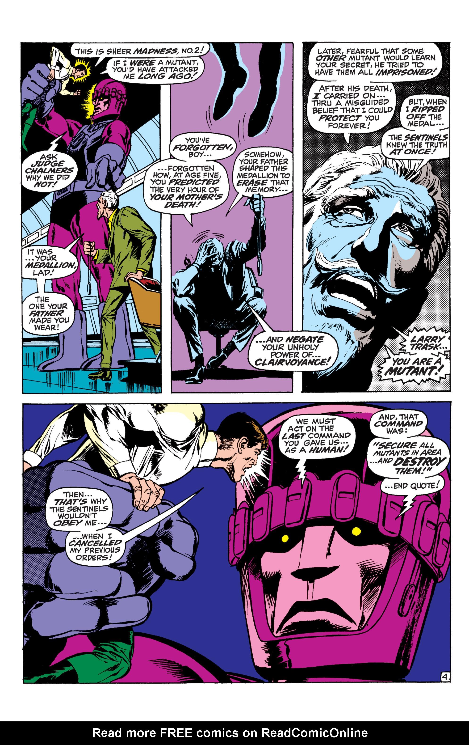 Read online Uncanny X-Men (1963) comic -  Issue #59 - 5