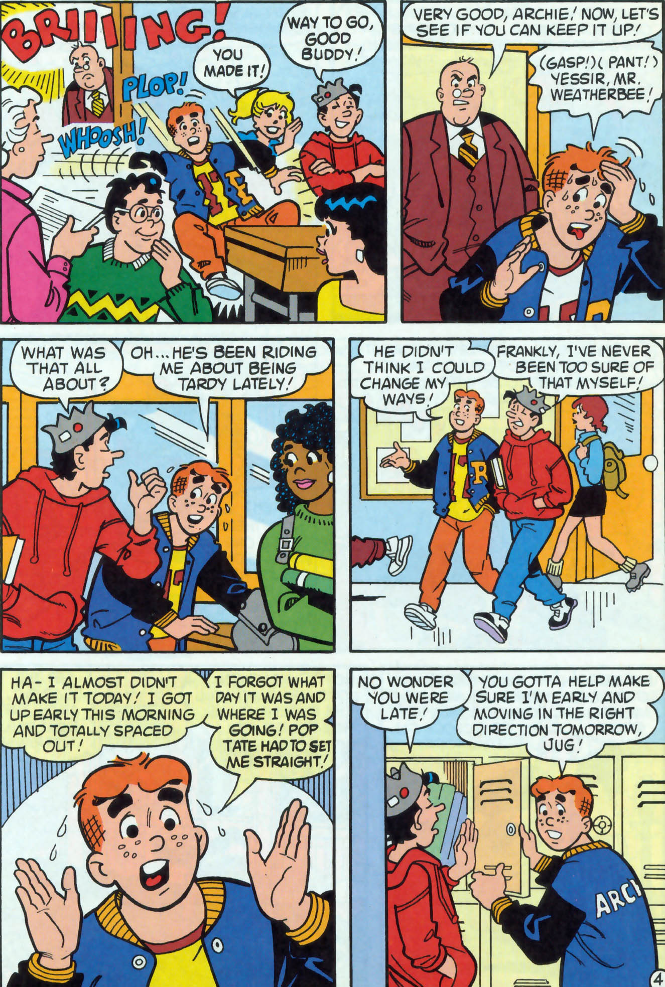 Read online Archie (1960) comic -  Issue #471 - 23