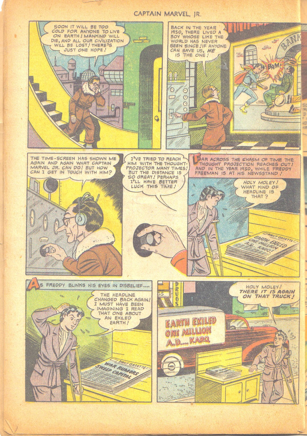 Captain Marvel, Jr. issue 95 - Page 35