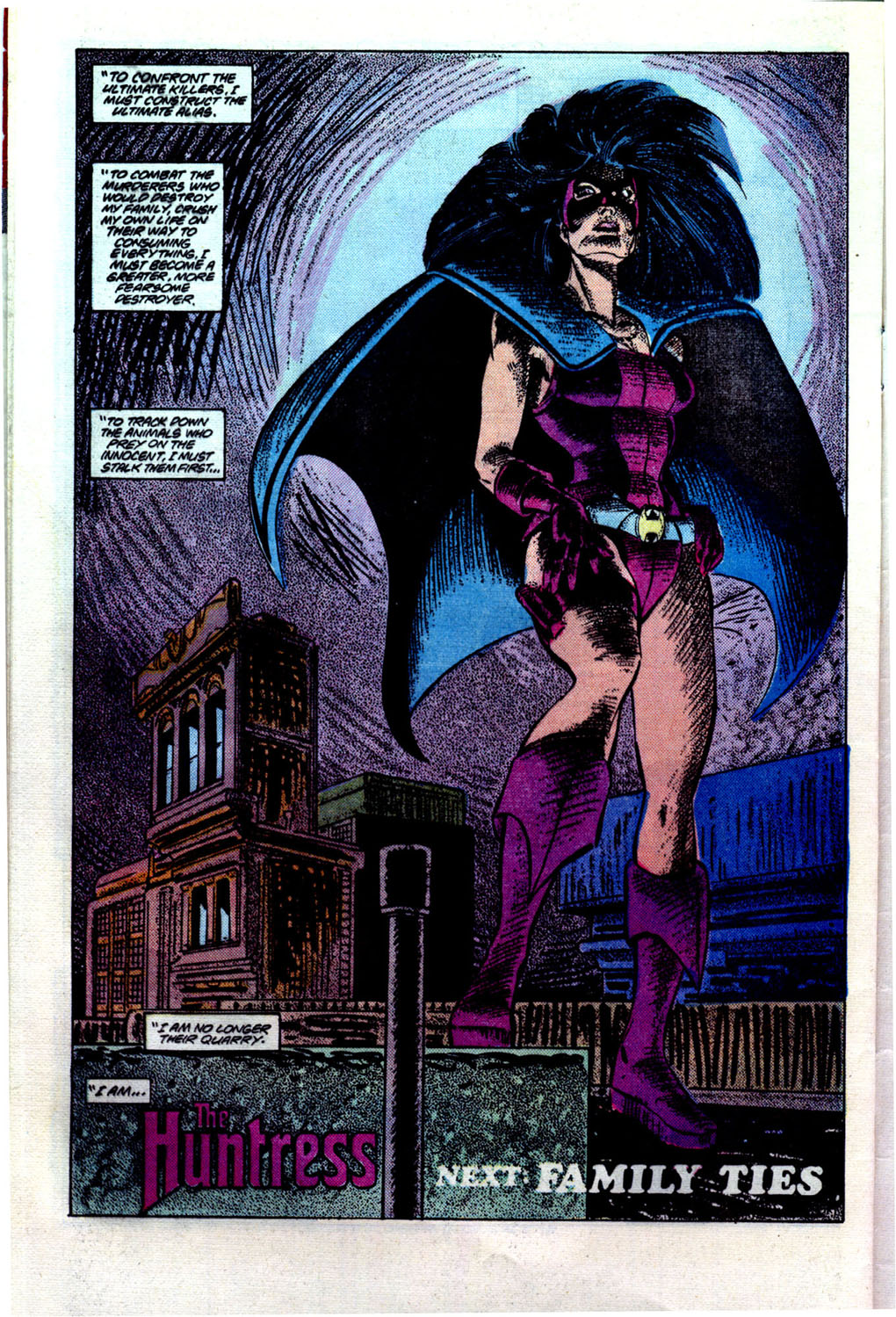 Read online The Huntress comic -  Issue #1 - 23