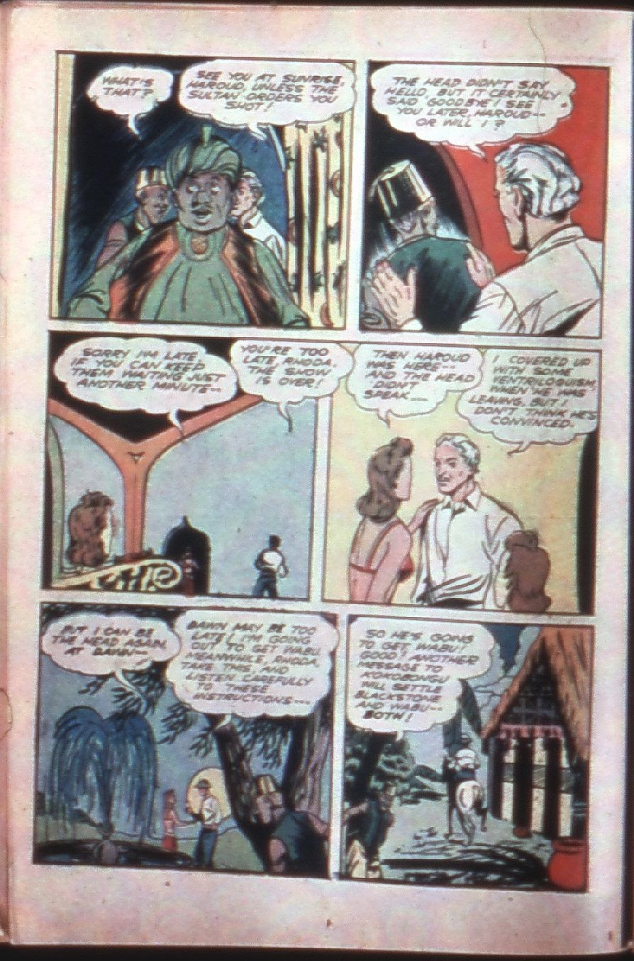 Read online Super-Magician Comics comic -  Issue #7 - 24