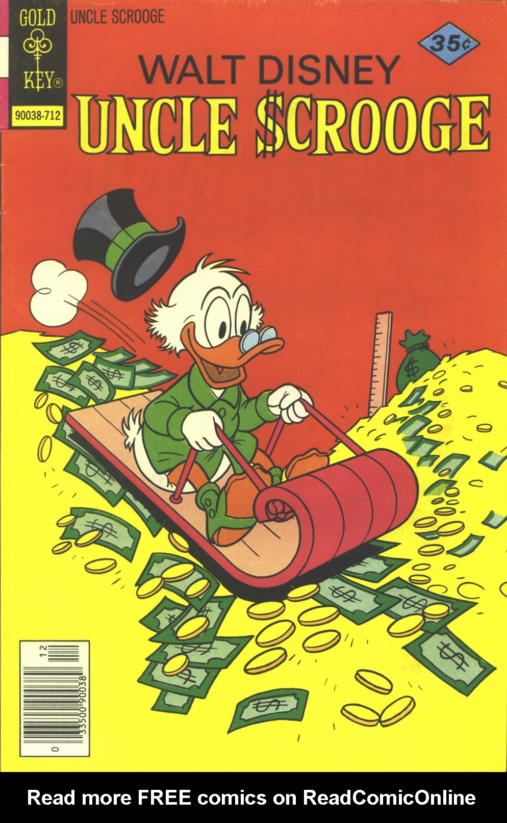 Read online Uncle Scrooge (1953) comic -  Issue #147 - 1