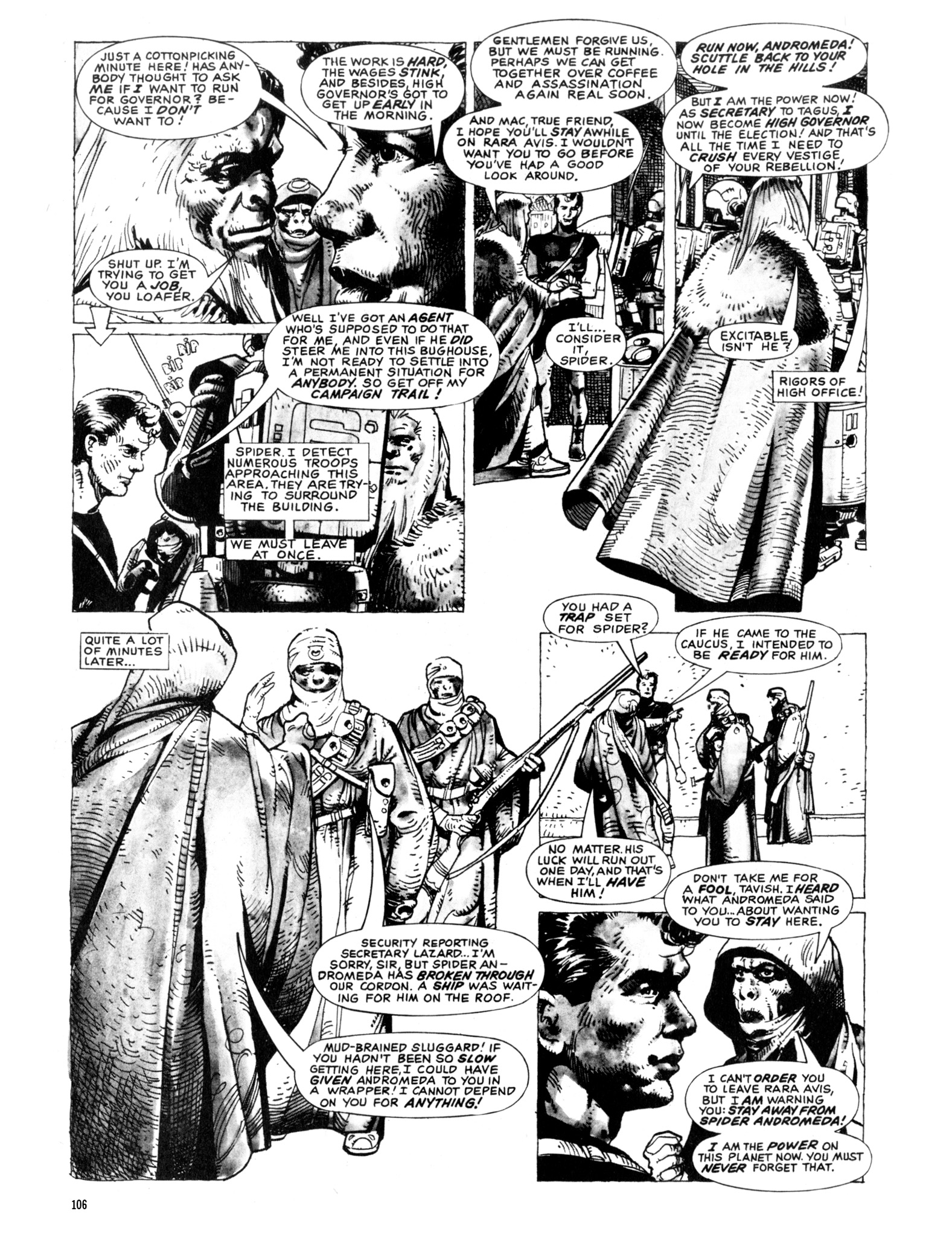 Read online Eerie Archives comic -  Issue # TPB 20 - 106