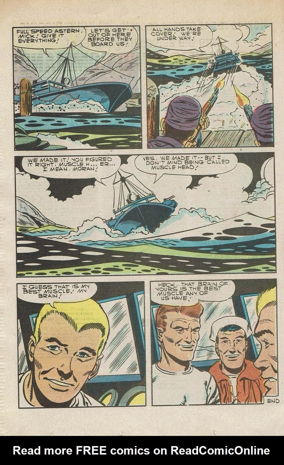 Read online Fightin' Navy comic -  Issue #126 - 16