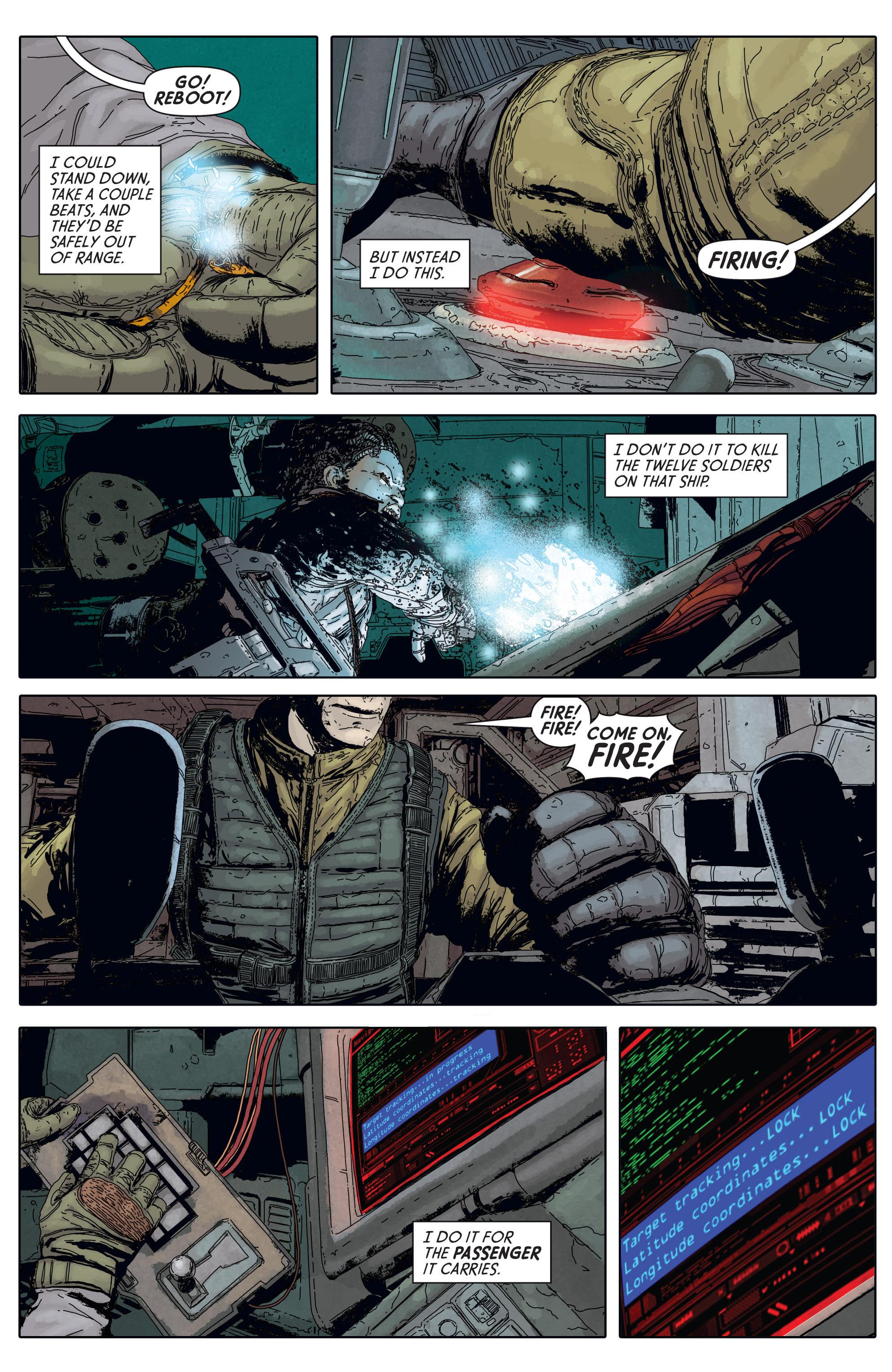 Read online Aliens: Defiance comic -  Issue #5 - 6