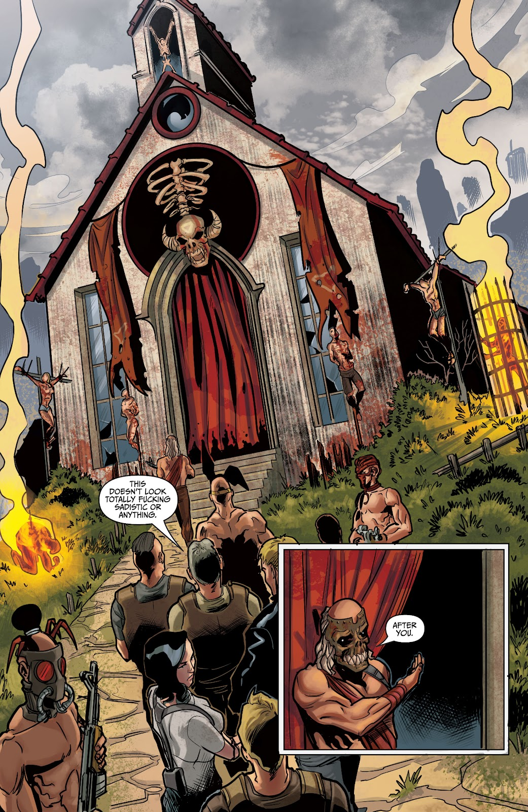 The Courier: Liberty & Death issue 2 - Page 16
