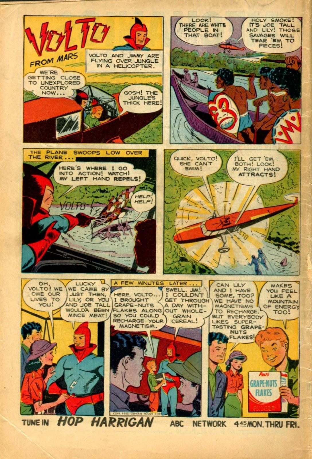 Read online Super-Magician Comics comic -  Issue #49 - 52