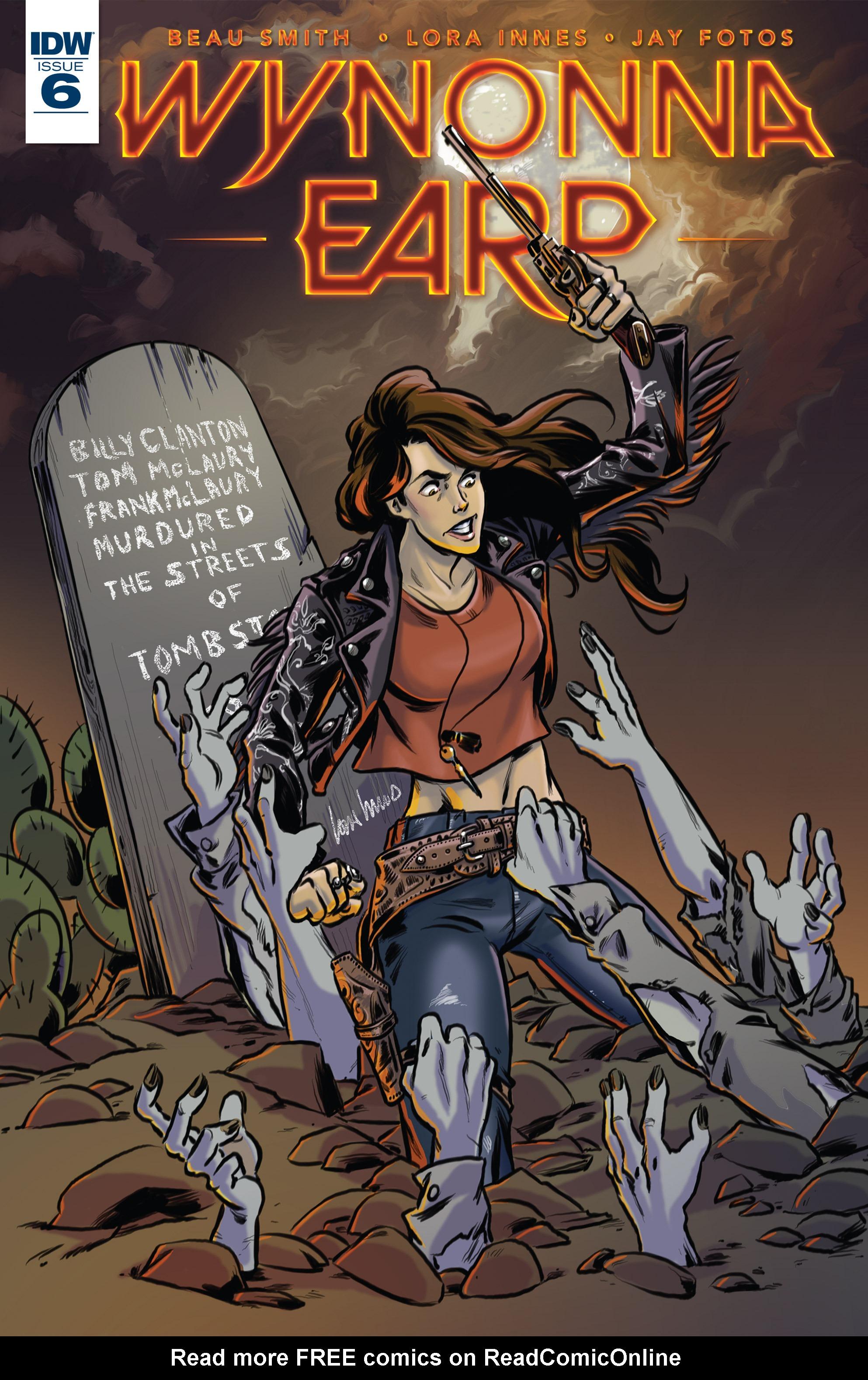 Read online Wynonna Earp (2016) comic -  Issue #6 - 1