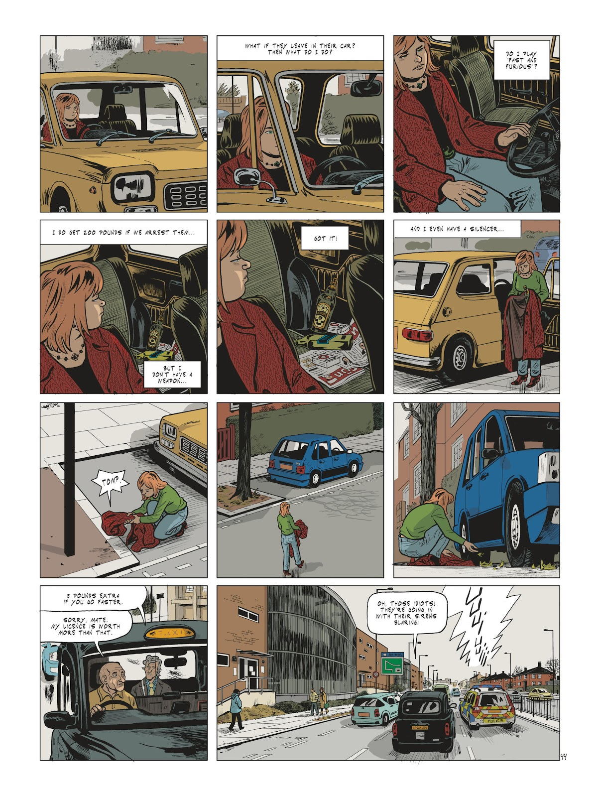 Read online Maggy Garrisson comic -  Issue #2 - 46