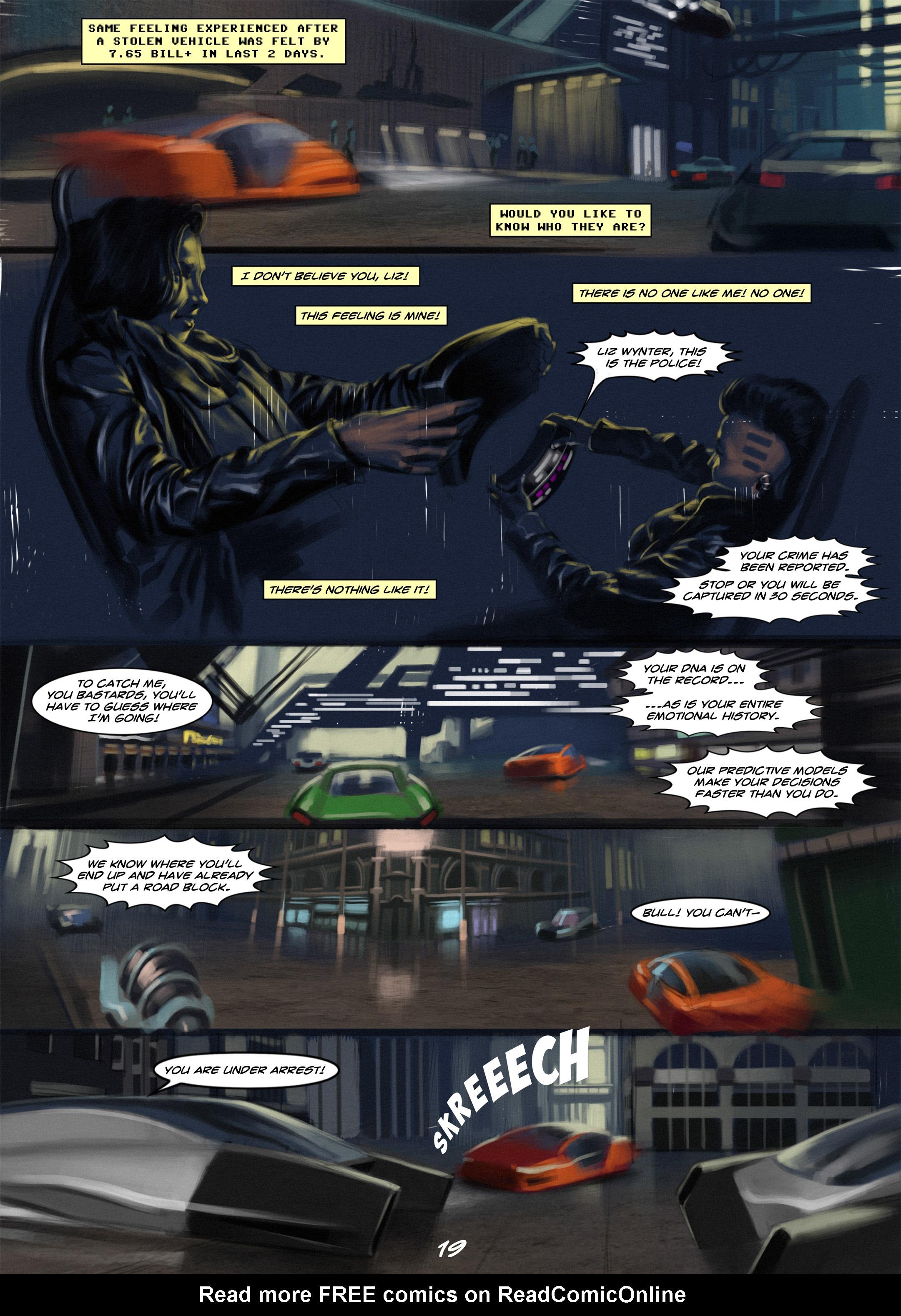 Read online Wynter comic -  Issue #1 - 19