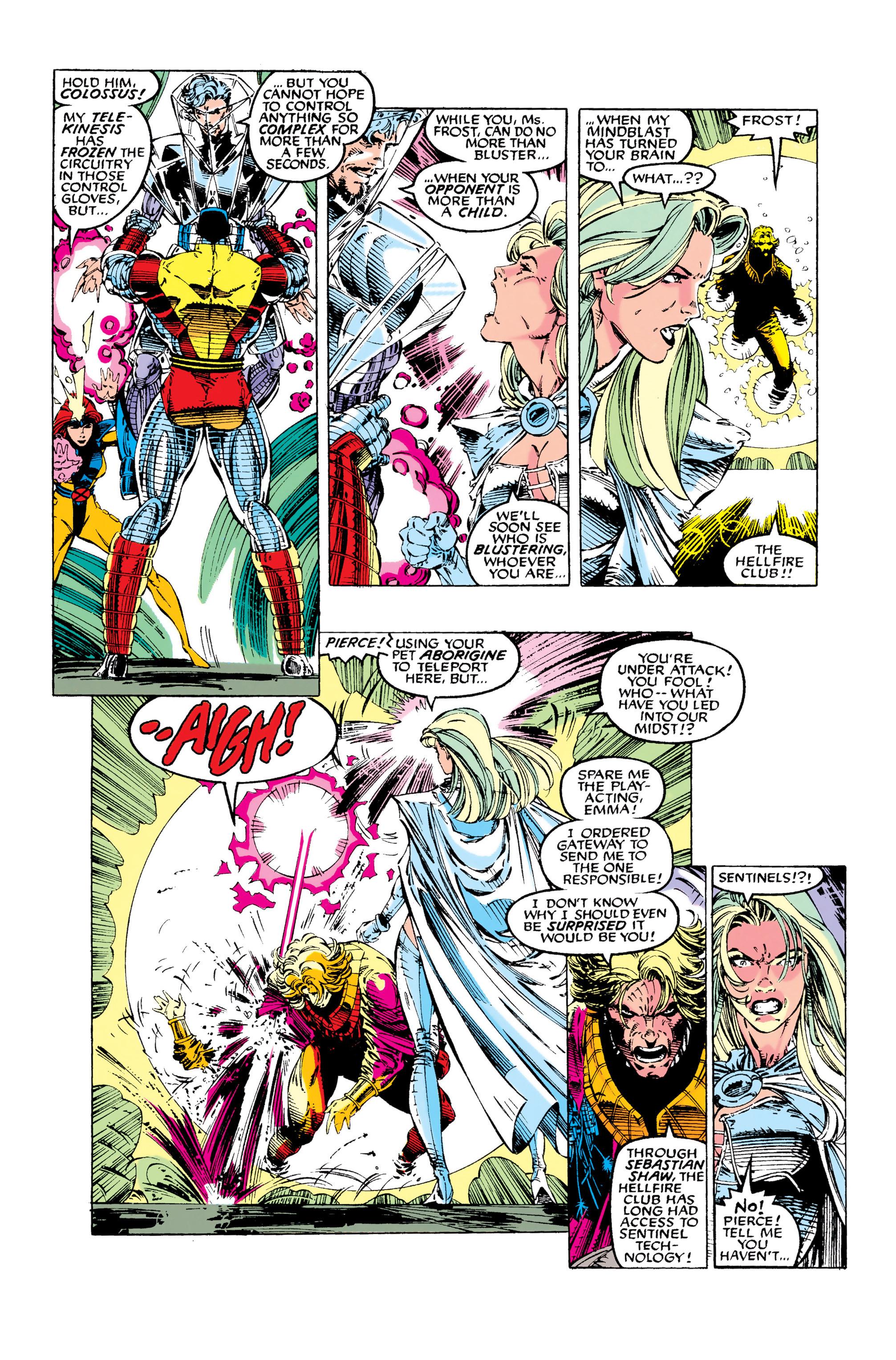 Read online Uncanny X-Men (1963) comic -  Issue #281 - 18